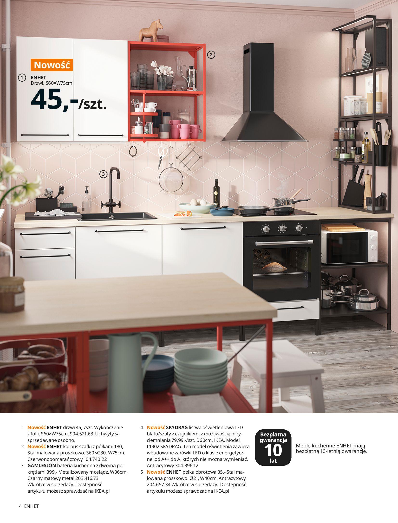 Gazetka IKEA: KUCHNIE 2021 2021-01-13 page-4