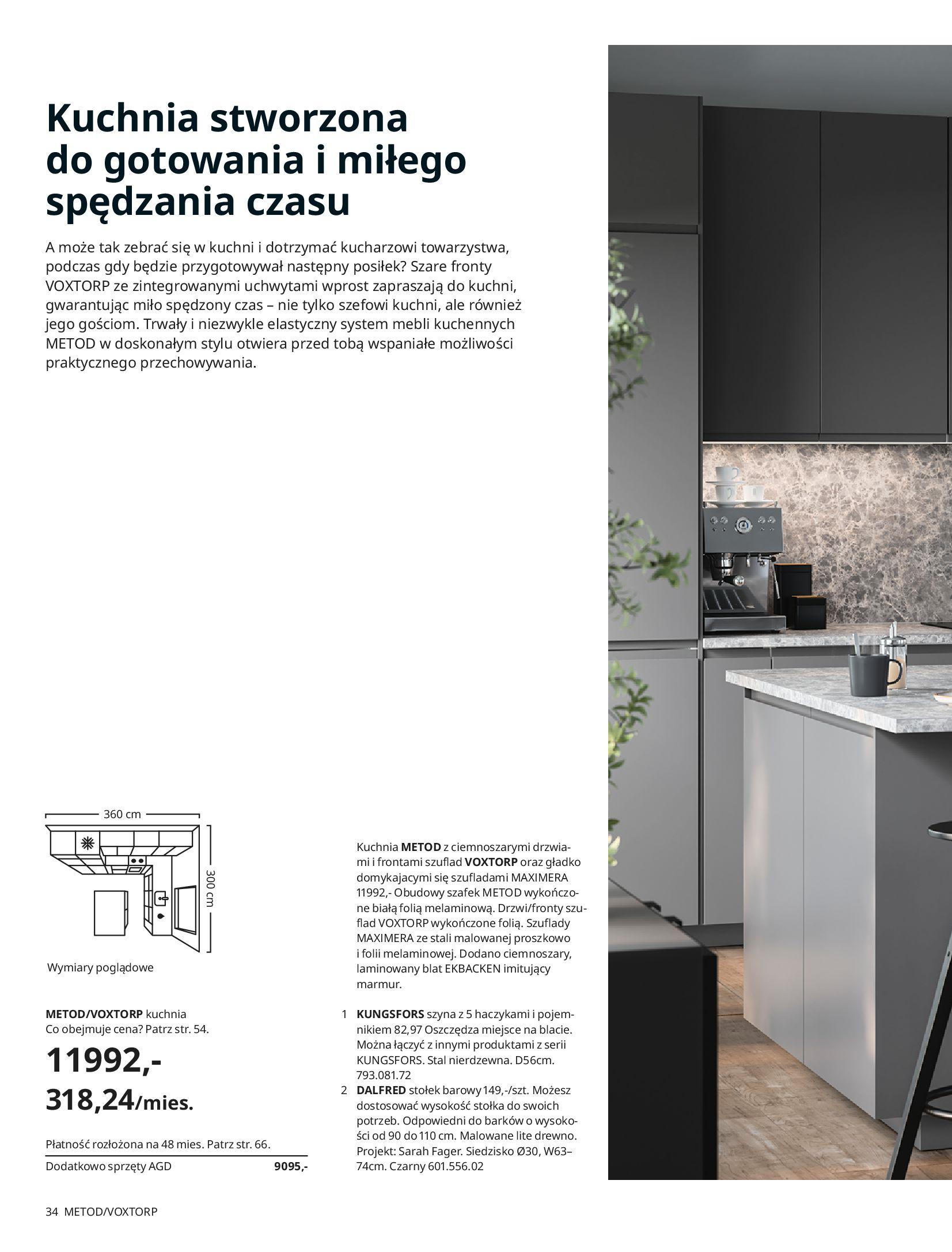 Gazetka IKEA: KUCHNIE 2021 2021-01-13 page-34
