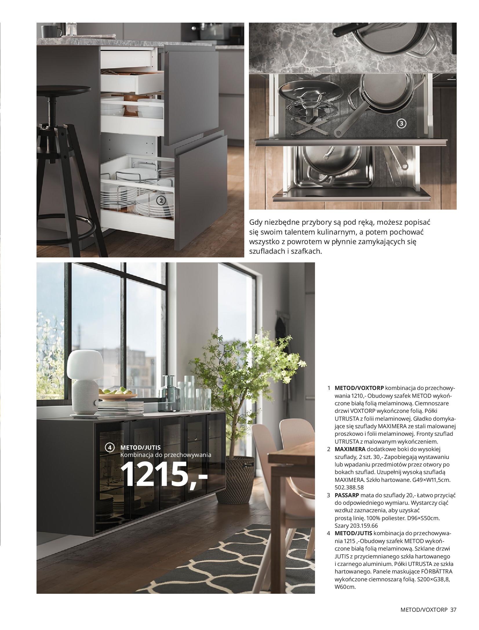 Gazetka IKEA: KUCHNIE 2021 2021-01-13 page-37
