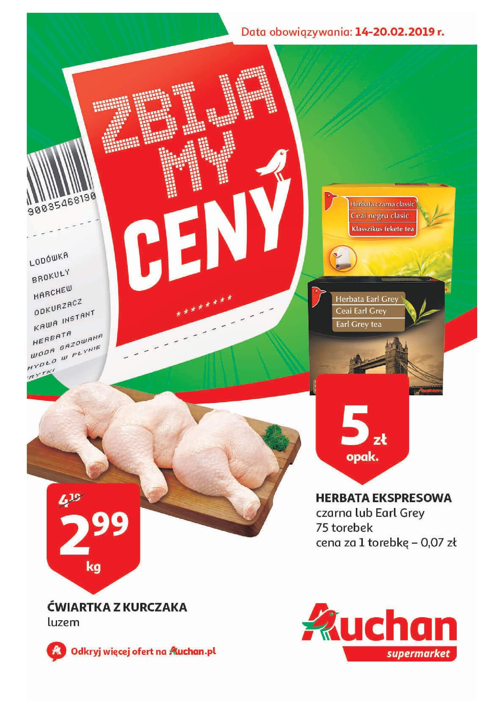 Gazetka Auchan - Zbijamy ceny cz. III - Auchan Supermarket-13.02.2019-20.02.2019-page-