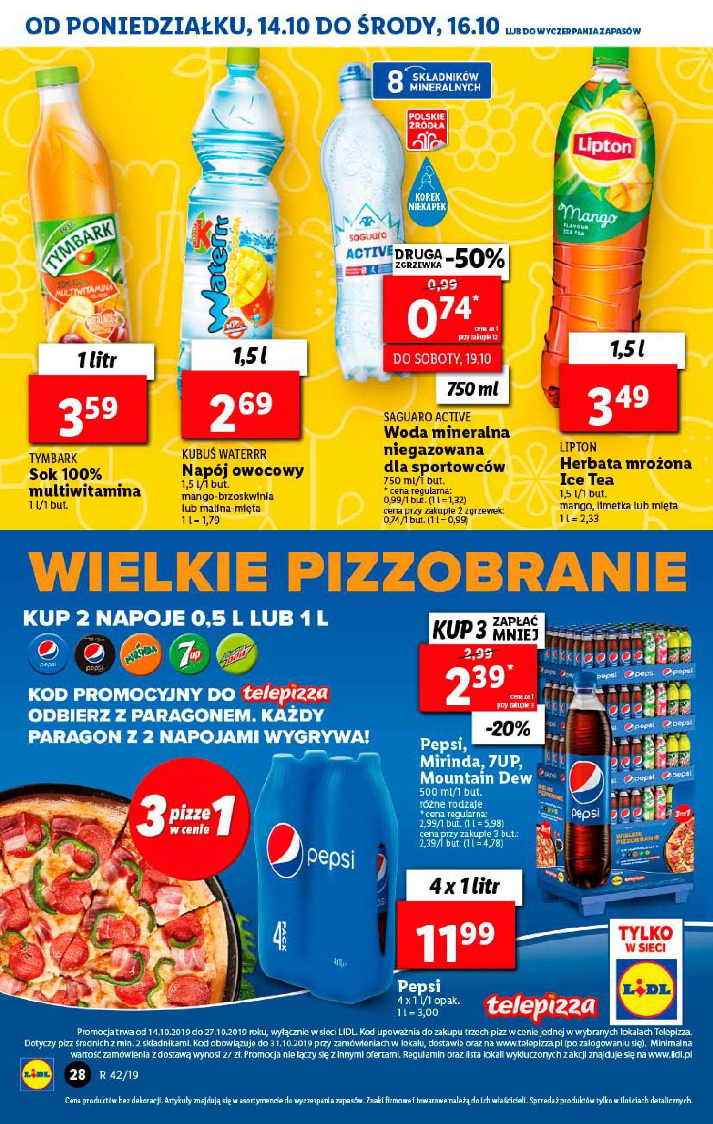 Gazetka Lidl - Od poniedziałku-13.10.2019-16.10.2019-page-28
