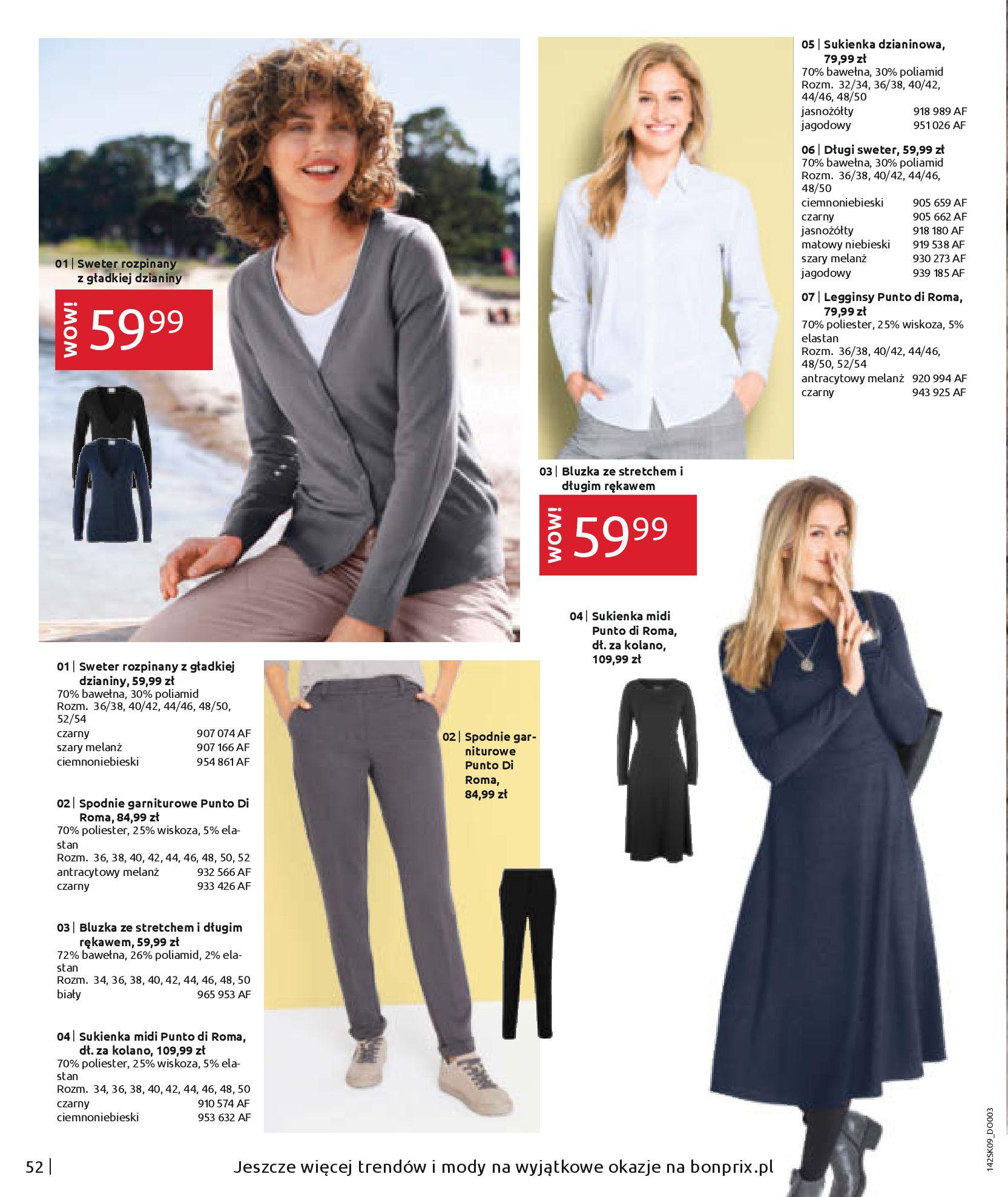Gazetka Bonprix - Jesienny look-31.08.2020-28.02.2021-page-54