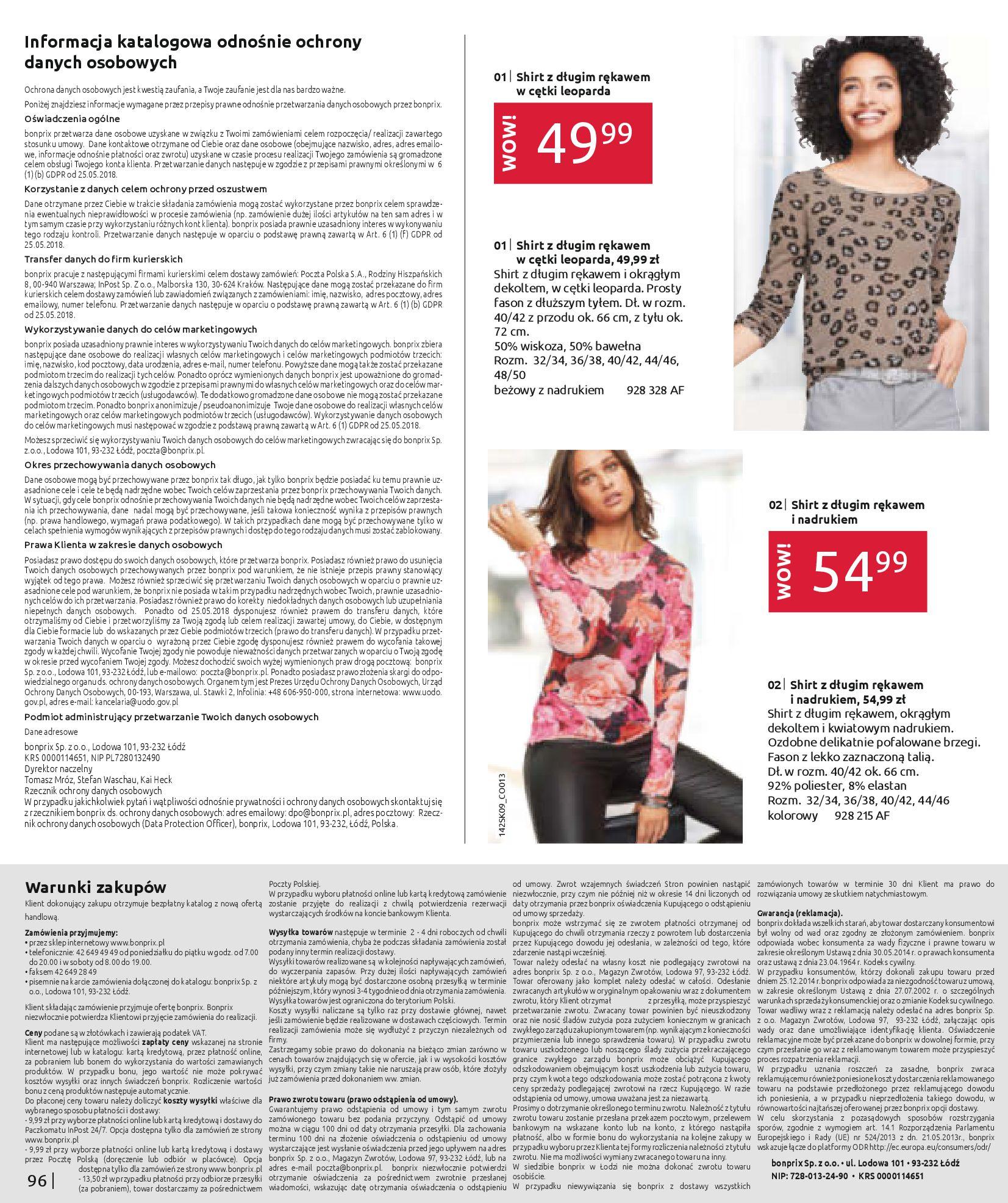 Gazetka Bonprix - Jesienny look-31.08.2020-28.02.2021-page-98