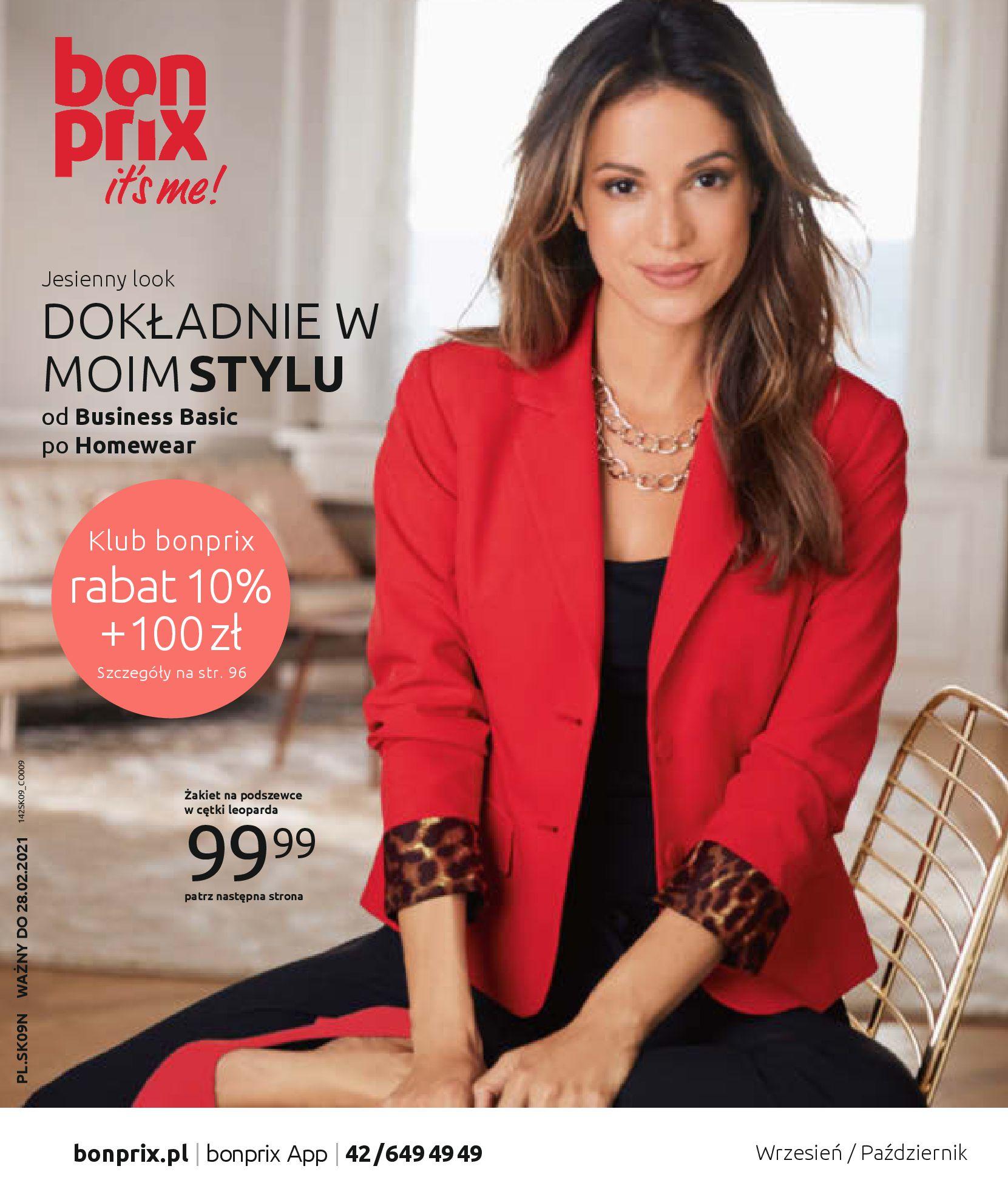 Gazetka Bonprix - Jesienny look-31.08.2020-28.02.2021-page-1