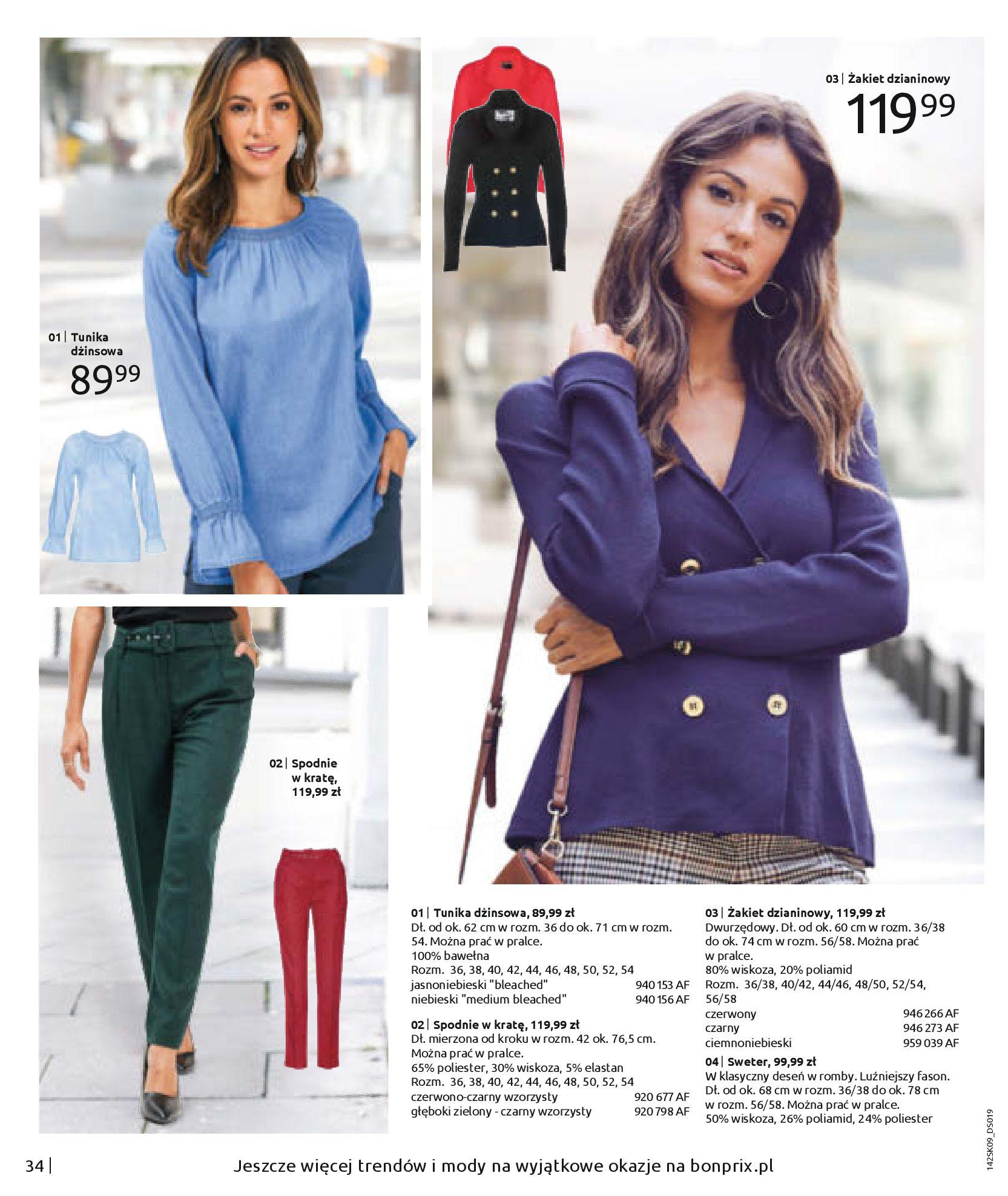 Gazetka Bonprix - Jesienny look-31.08.2020-28.02.2021-page-36