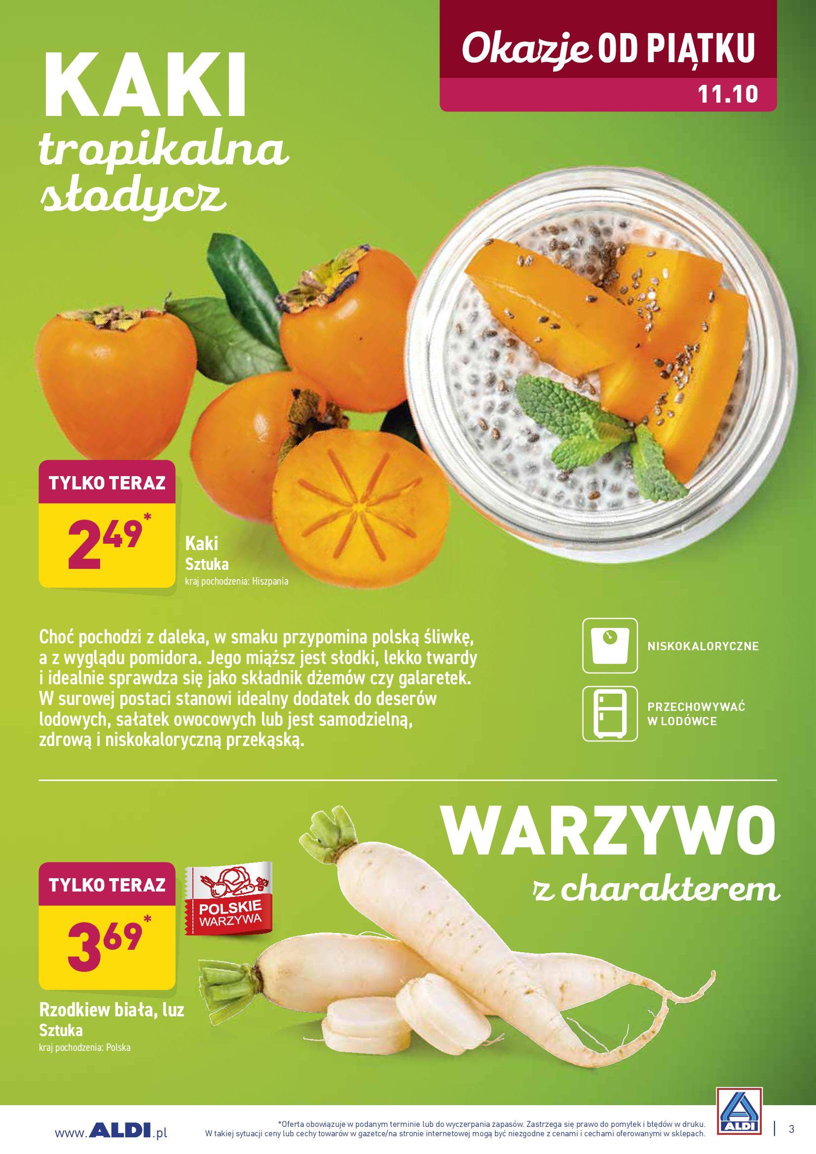 Gazetka Aldi - Szybko dojrzejesz do kolejnych zakupów-06.10.2019-12.10.2019-page-