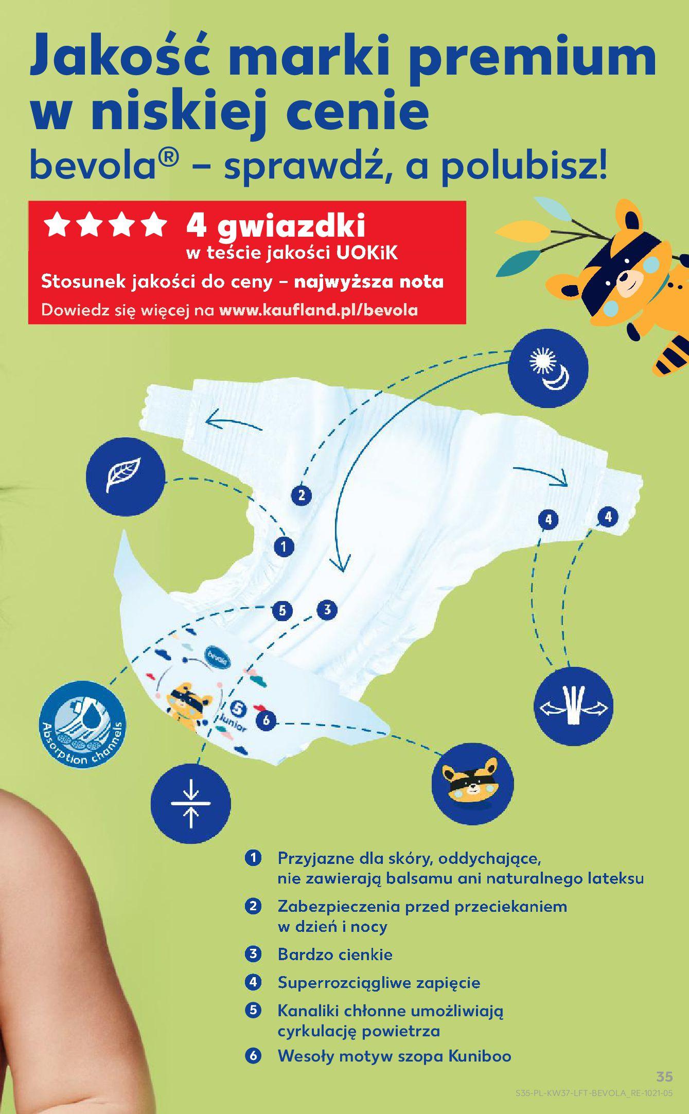 Gazetka Kaufland: Gazetka Kaufland - urodziny 20 lat 2021-09-16 page-35