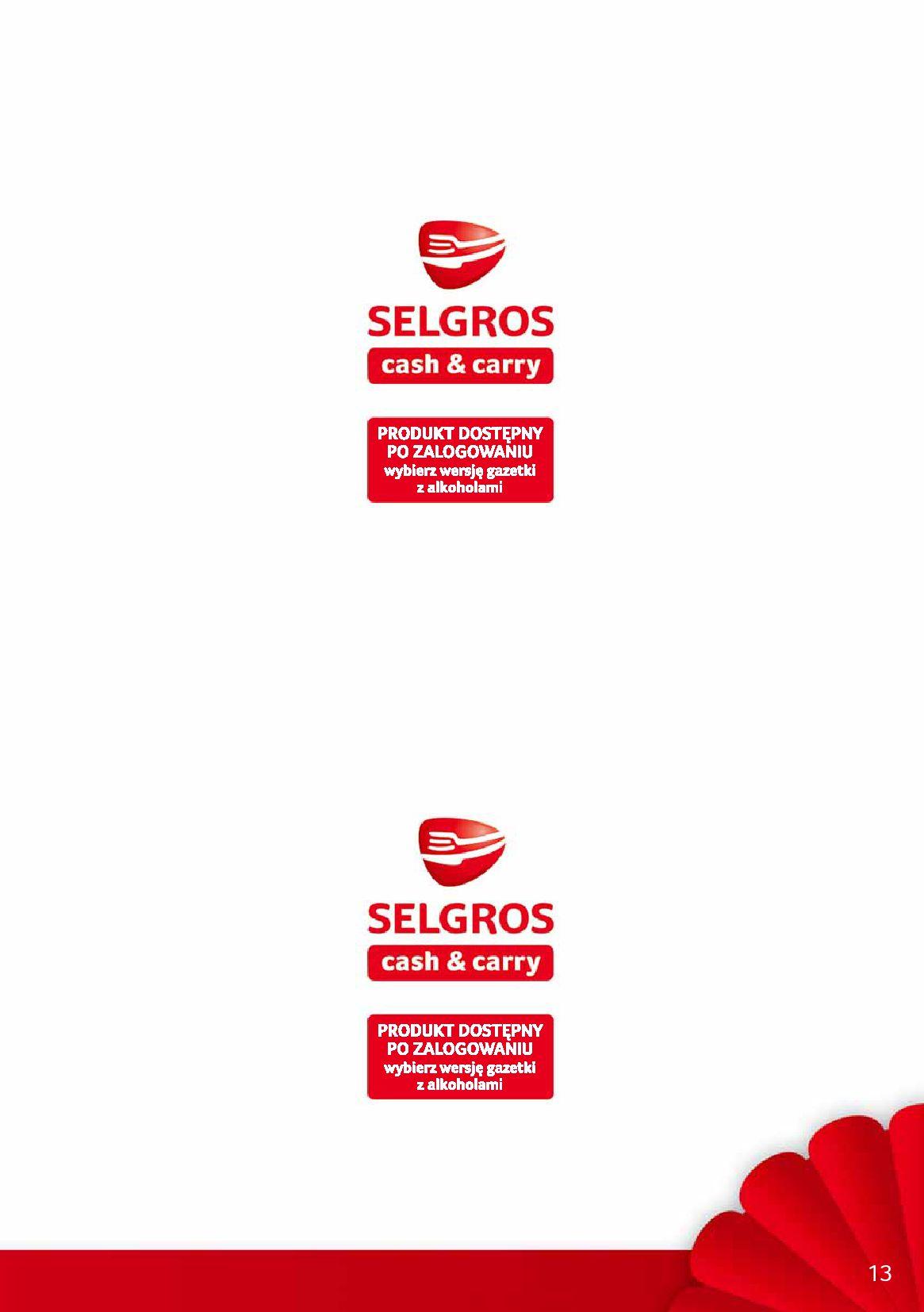 Gazetka Selgros - Debiuty w Selgros-09.10.2019-23.10.2019-page-13