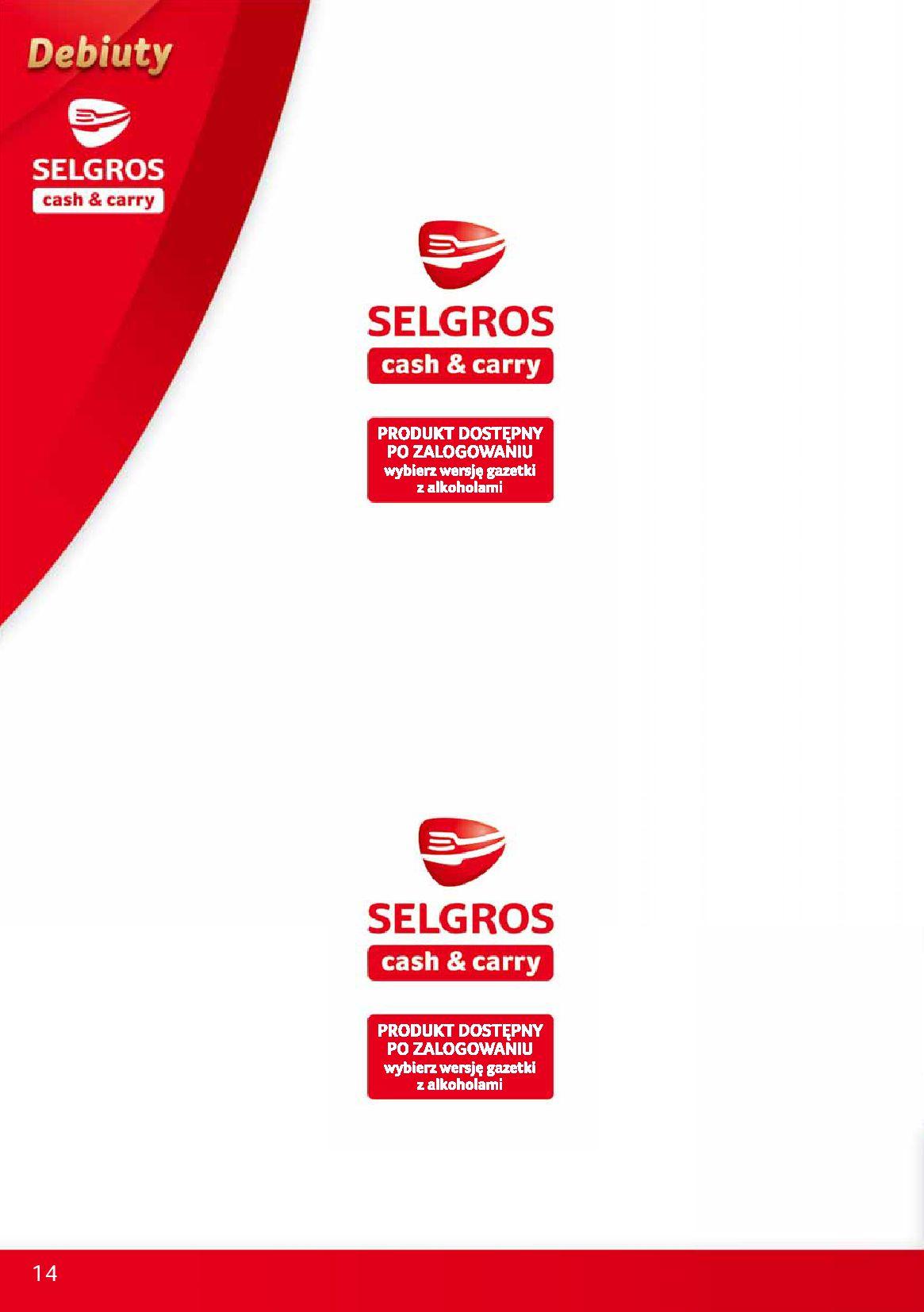 Gazetka Selgros - Debiuty w Selgros-09.10.2019-23.10.2019-page-14