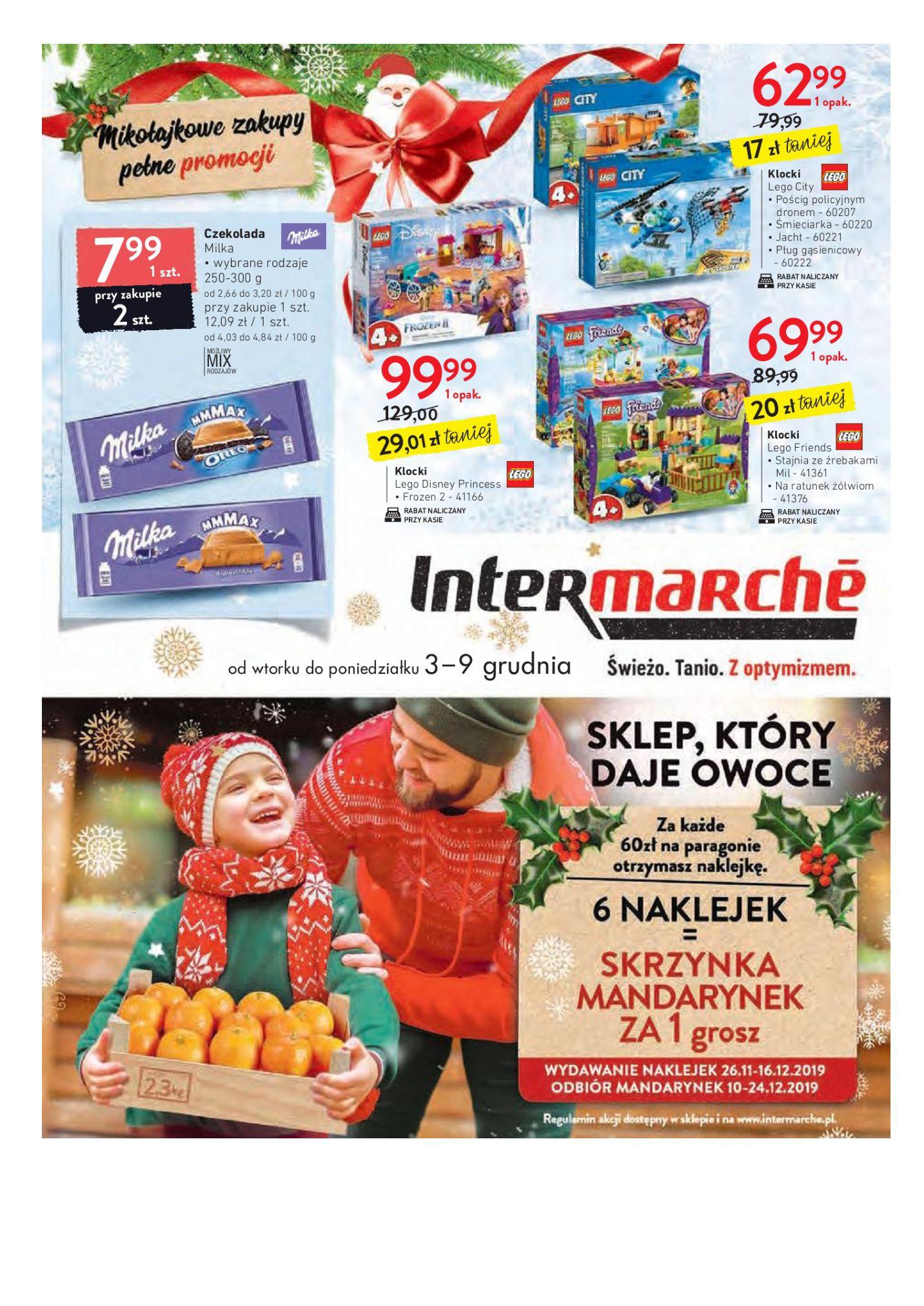 Gazetka Intermarché - Mikołajkowe zakupy pełne promocji-02.12.2019-09.12.2019-page-1