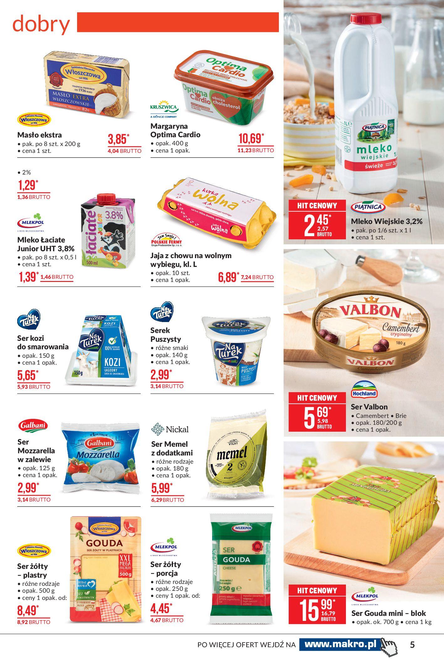 Gazetka Makro: Oferta spożywcza 2021-04-08 page-5