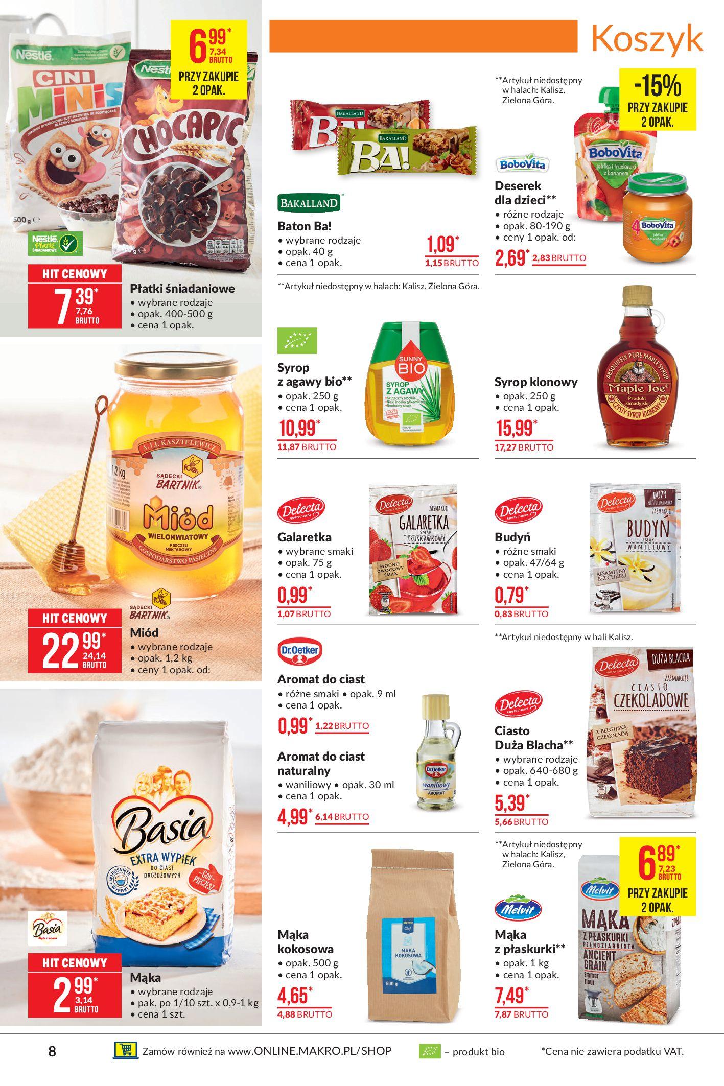 Gazetka Makro: Oferta spożywcza 2021-04-08 page-8
