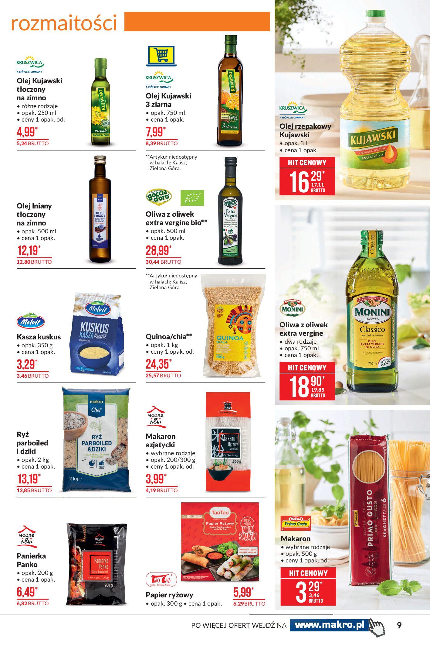 Gazetka Makro: Oferta spożywcza 2021-04-08 page-9