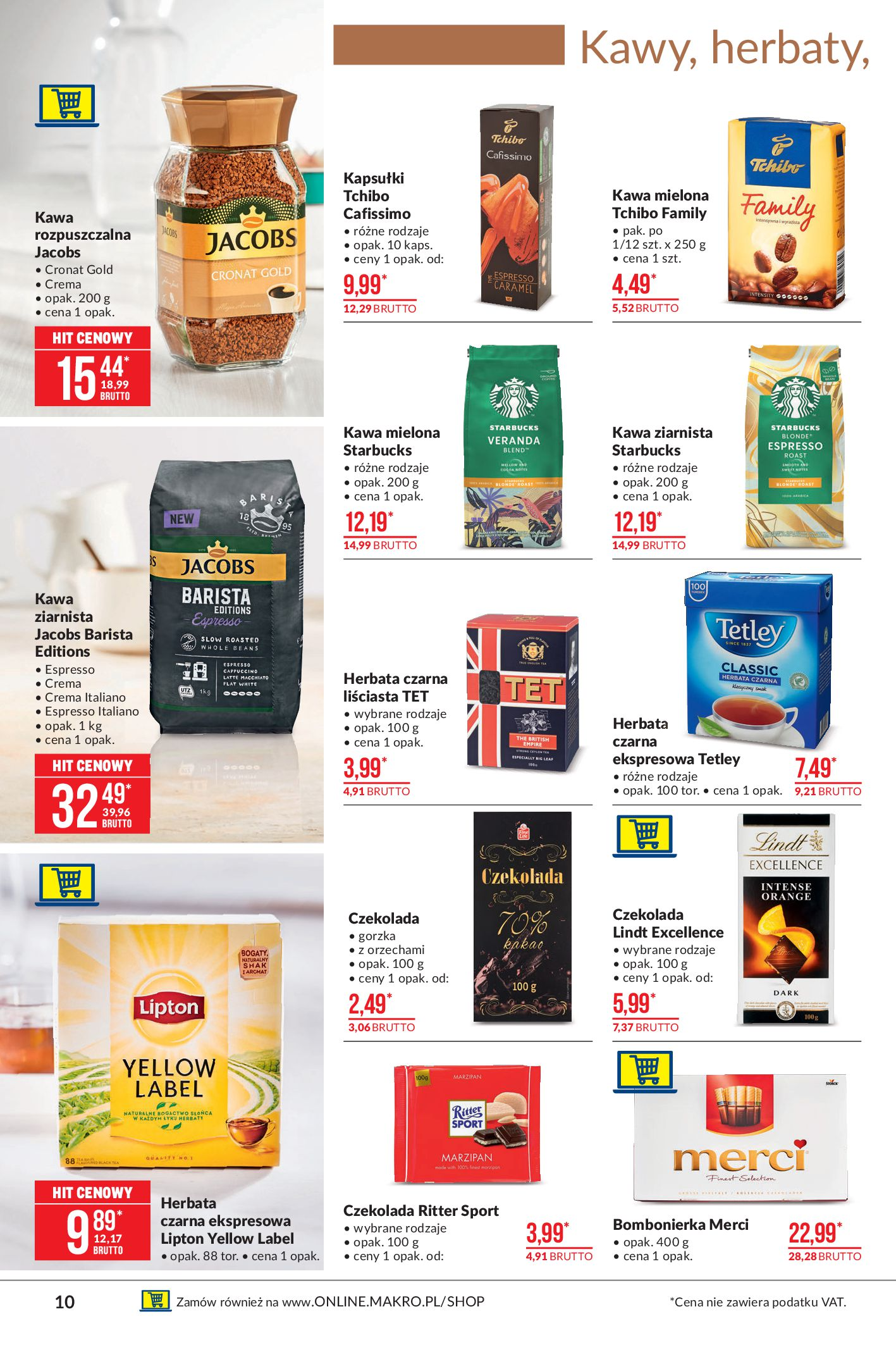 Gazetka Makro: Oferta spożywcza 2021-04-08 page-10