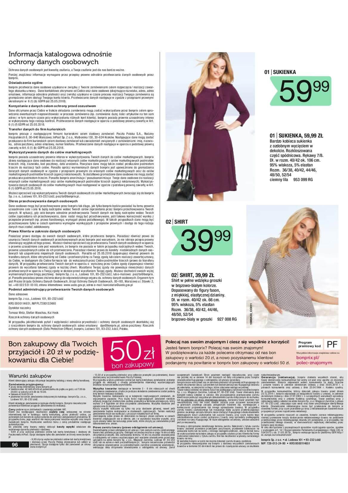 Gazetka Bonprix - Radosna moda-10.03.2019-25.06.2019-page-98