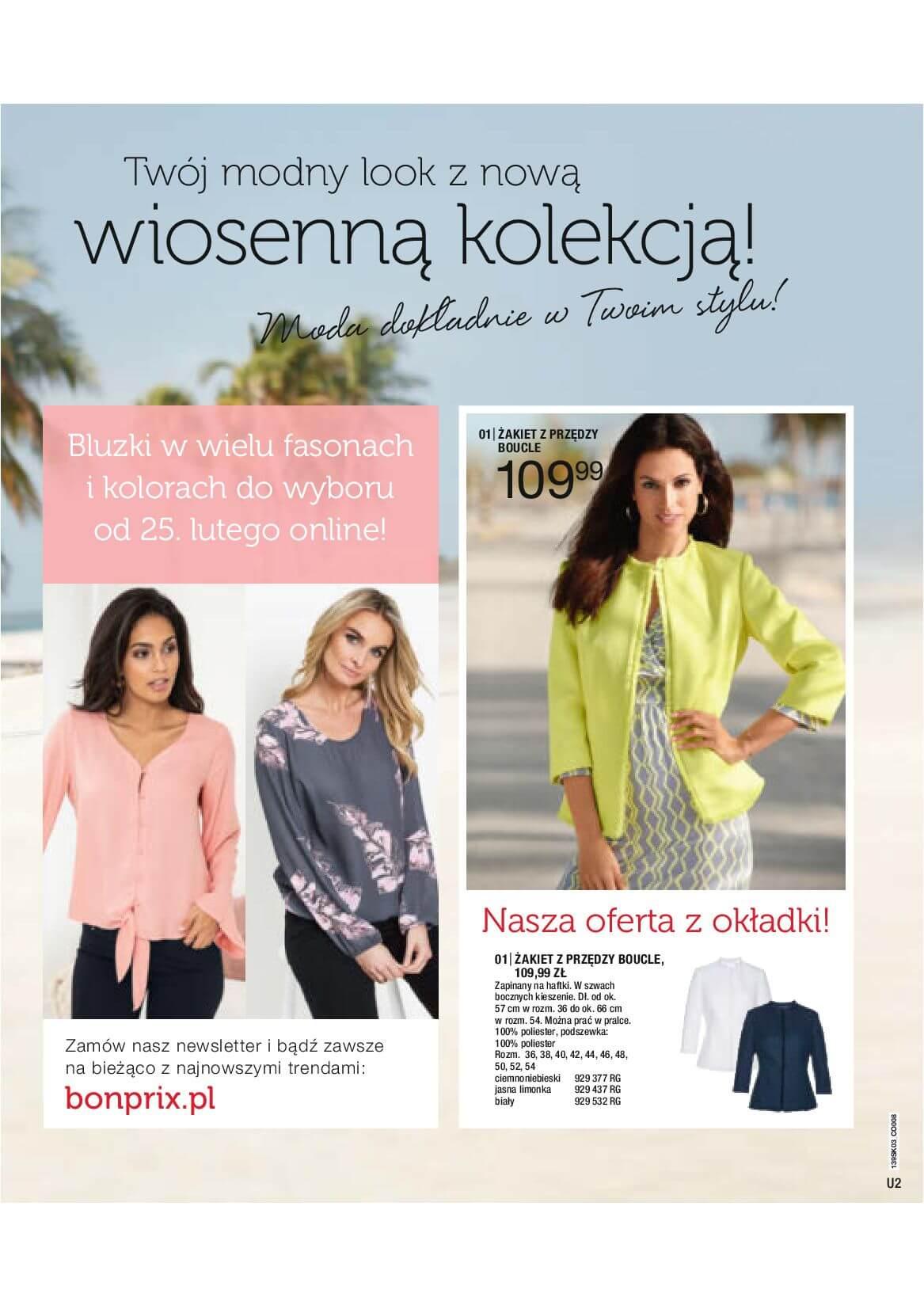 Gazetka Bonprix - Radosna moda-10.03.2019-25.06.2019-page-2