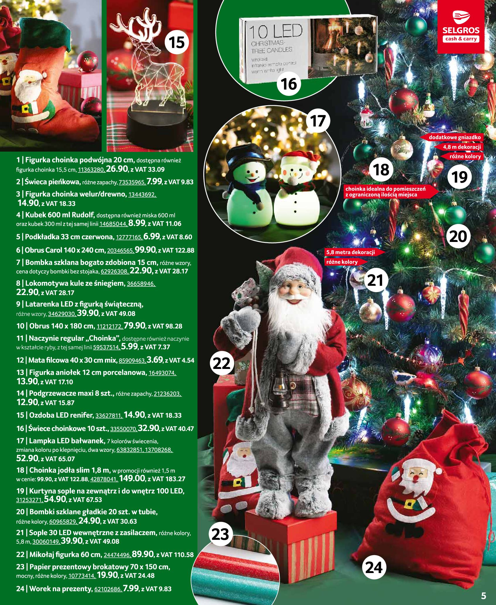 Gazetka Selgros: Oferta przemysłowa 2020-11-19 page-5