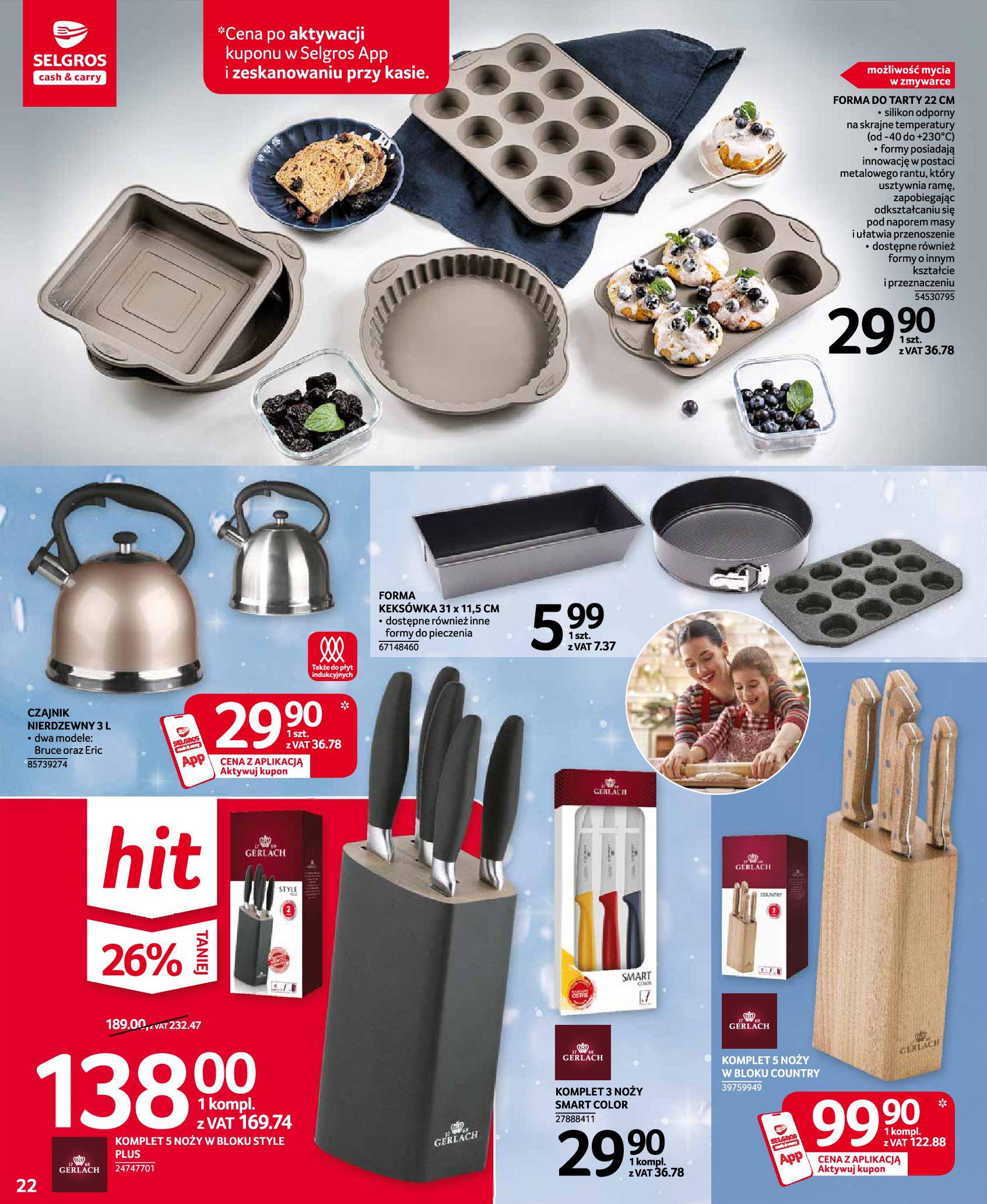 Gazetka Selgros: Oferta przemysłowa 2020-11-19 page-22