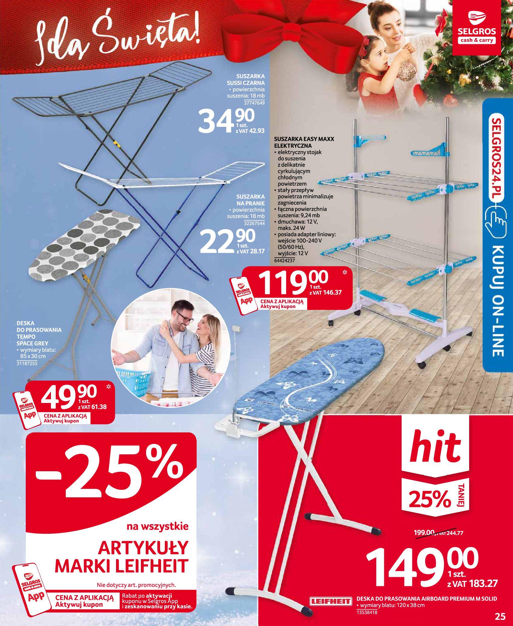 Gazetka Selgros: Oferta przemysłowa 2020-11-19 page-25