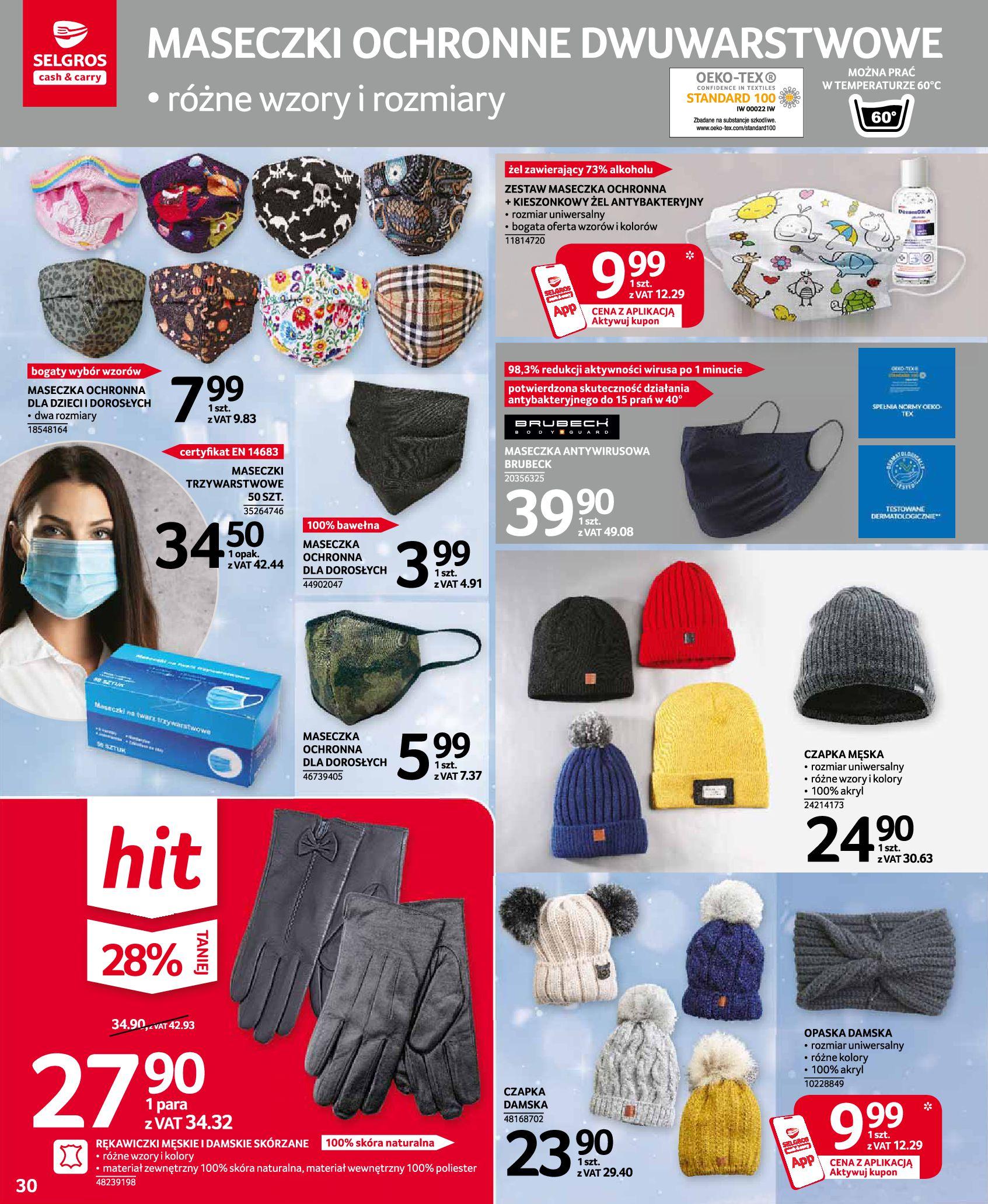 Gazetka Selgros: Oferta przemysłowa 2020-11-19 page-30