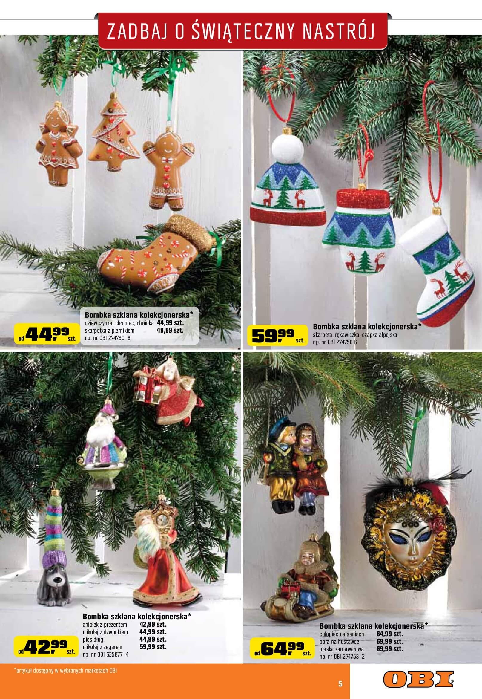 Gazetka OBI - Zadbaj o świąteczny nastrój-2017-12-06-2018-01-02-page-5