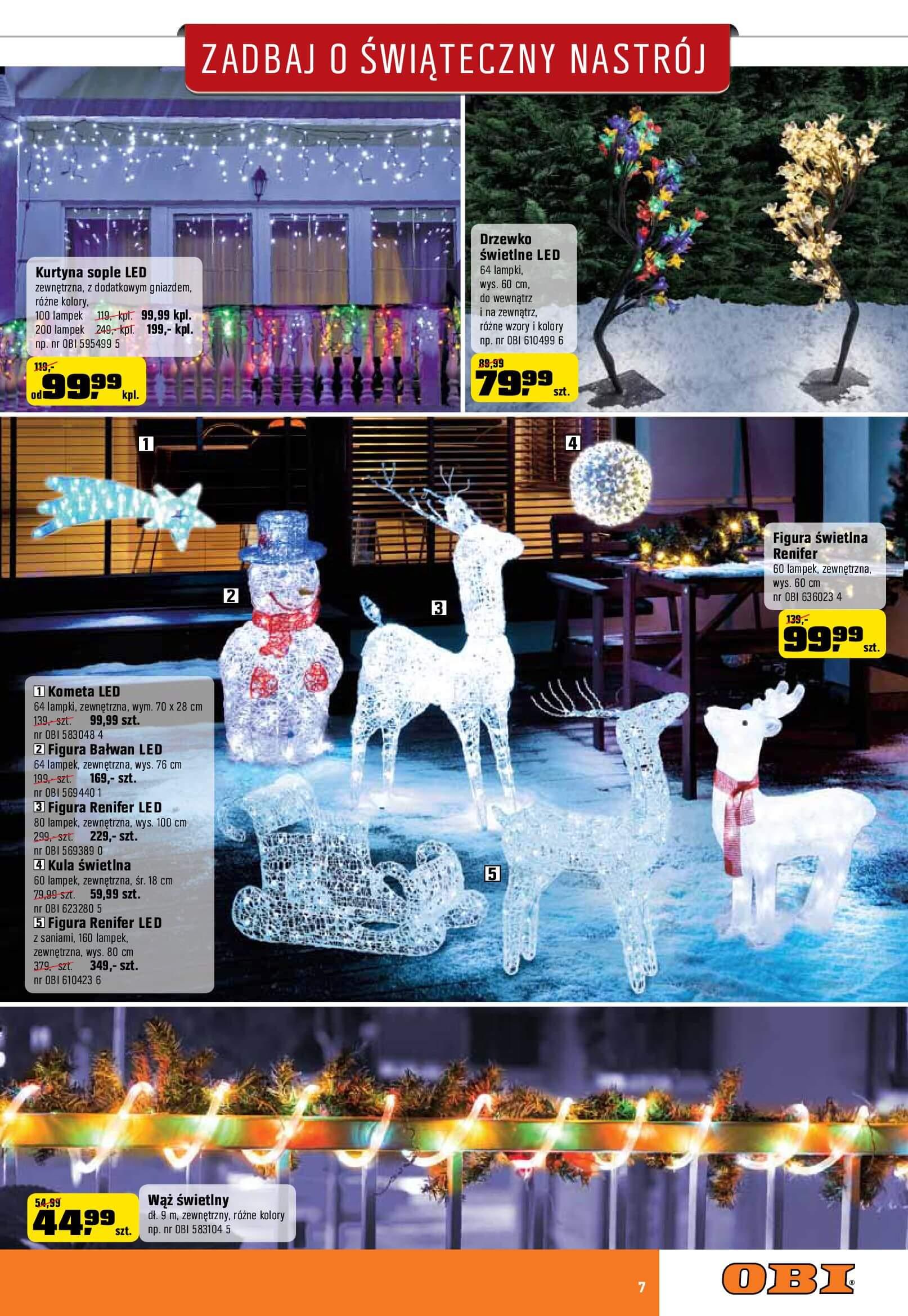 Gazetka OBI - Zadbaj o świąteczny nastrój-2017-12-06-2018-01-02-page-7