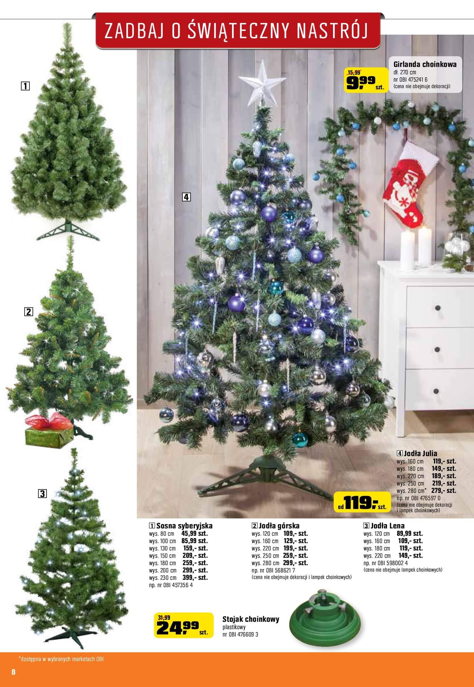 Gazetka OBI - Zadbaj o świąteczny nastrój-06.12.2017-02.01.2018-page-8