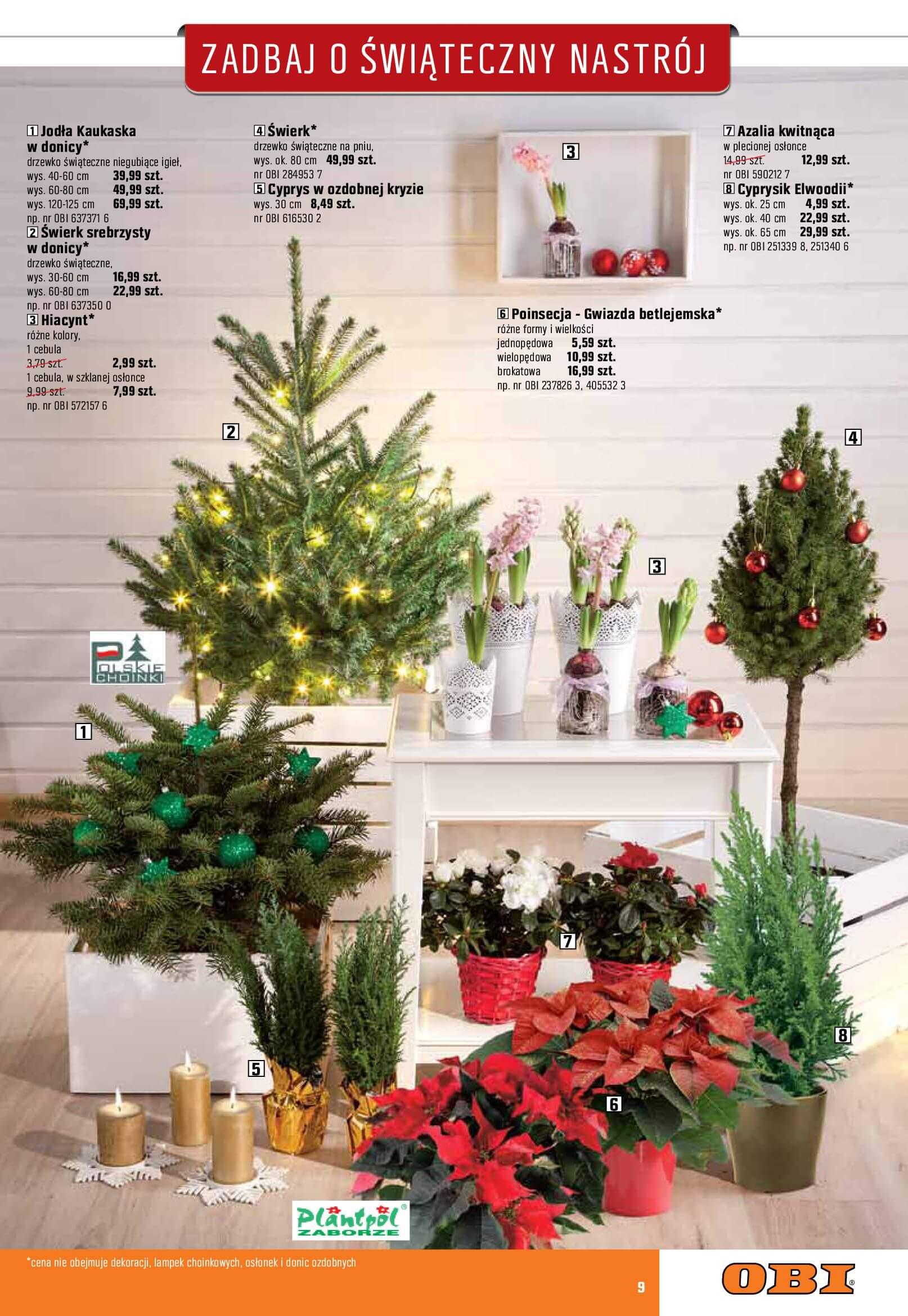 Gazetka OBI - Zadbaj o świąteczny nastrój-06.12.2017-02.01.2018-page-9