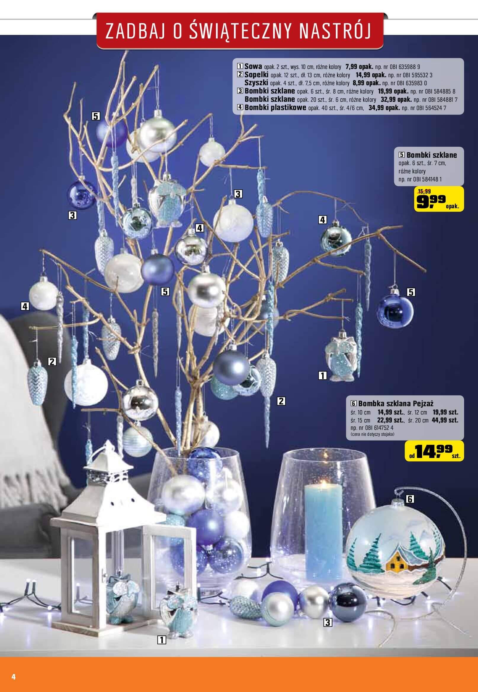 Gazetka OBI - Zadbaj o świąteczny nastrój-06.12.2017-02.01.2018-page-4