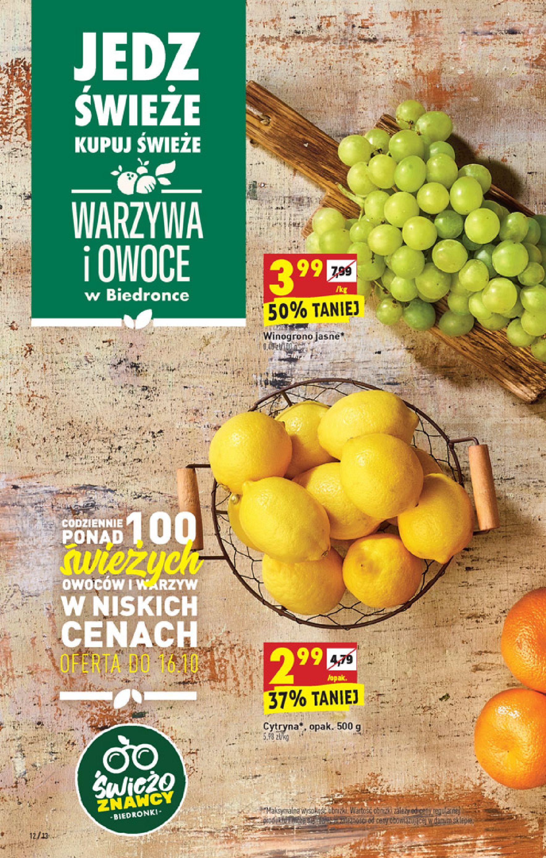 Gazetka Biedronka: Gazetka Biedronka - W tym tygodniu od 14.10 2021-10-14 page-12