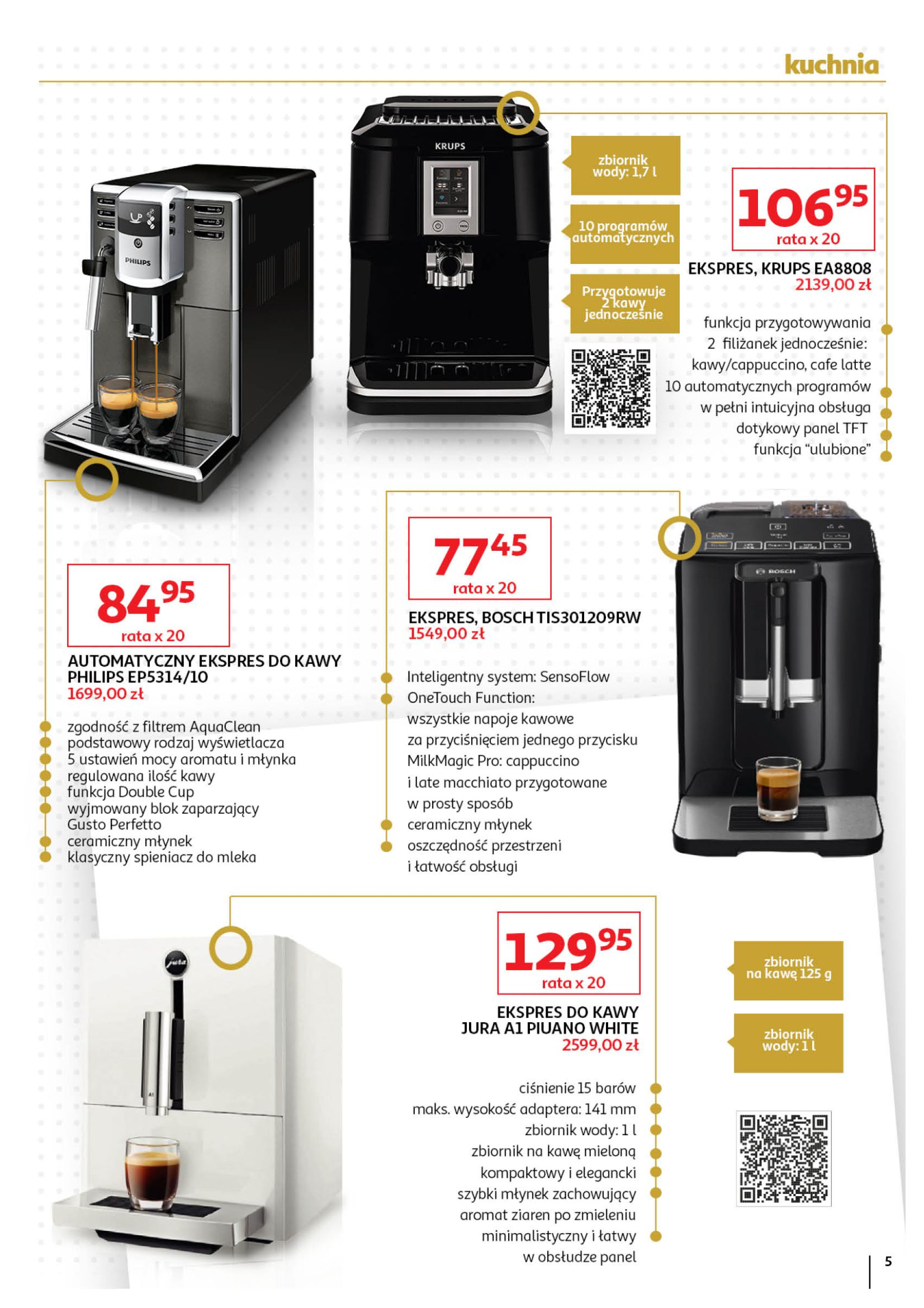 Gazetka Auchan - Oferta Auchan Premium Hipermarkety-01.11.2019-27.11.2019-page-5