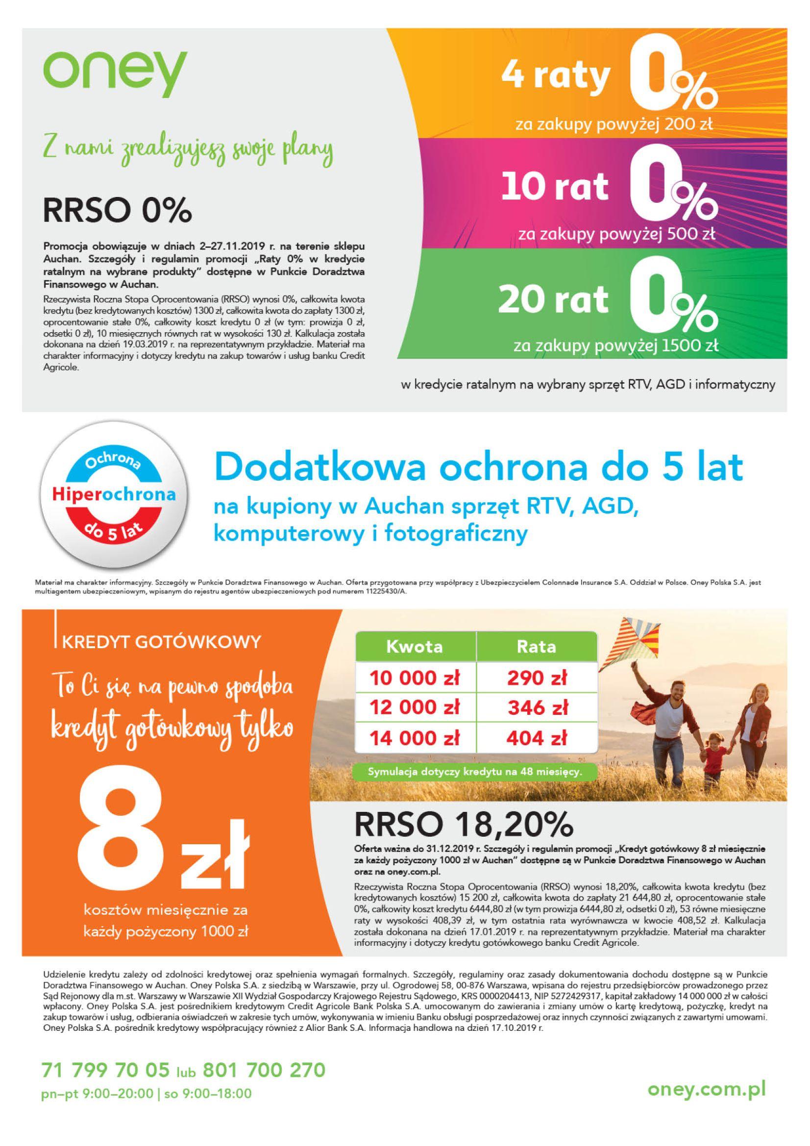 Gazetka Auchan - Oferta Auchan Premium Hipermarkety-01.11.2019-27.11.2019-page-2