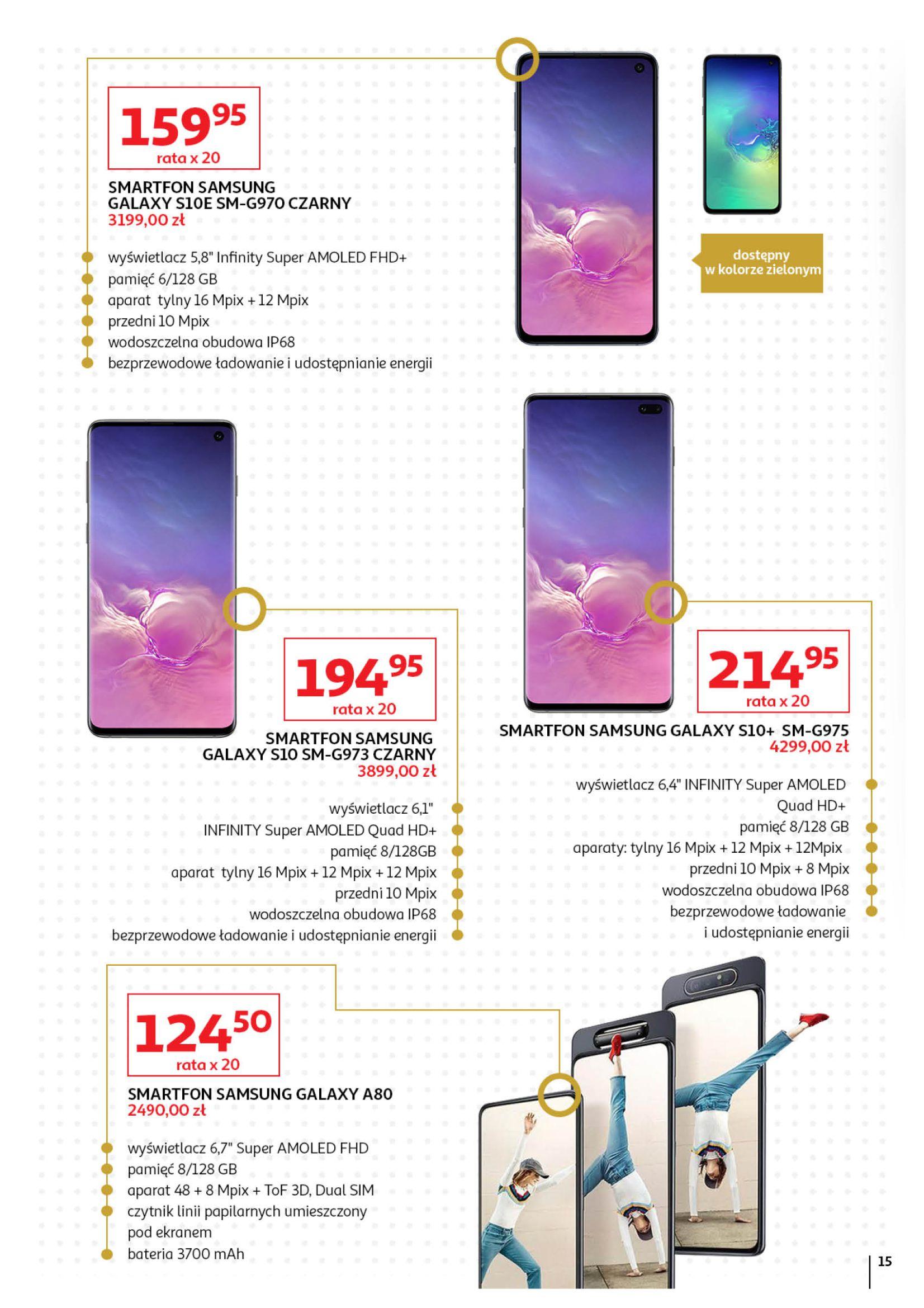 Gazetka Auchan - Oferta Auchan Premium Hipermarkety-01.11.2019-27.11.2019-page-15