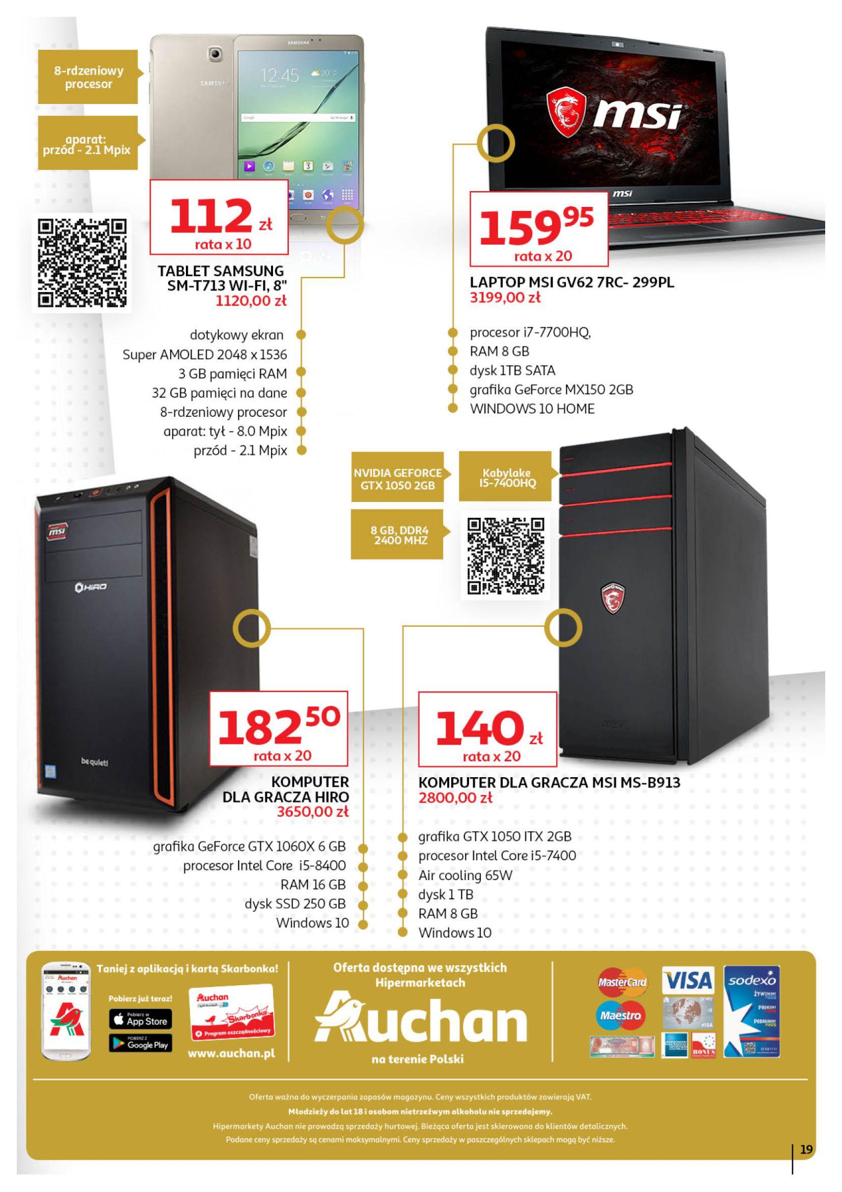 Gazetka Auchan - Oferta Auchan Premium Hipermarkety-01.11.2019-27.11.2019-page-19