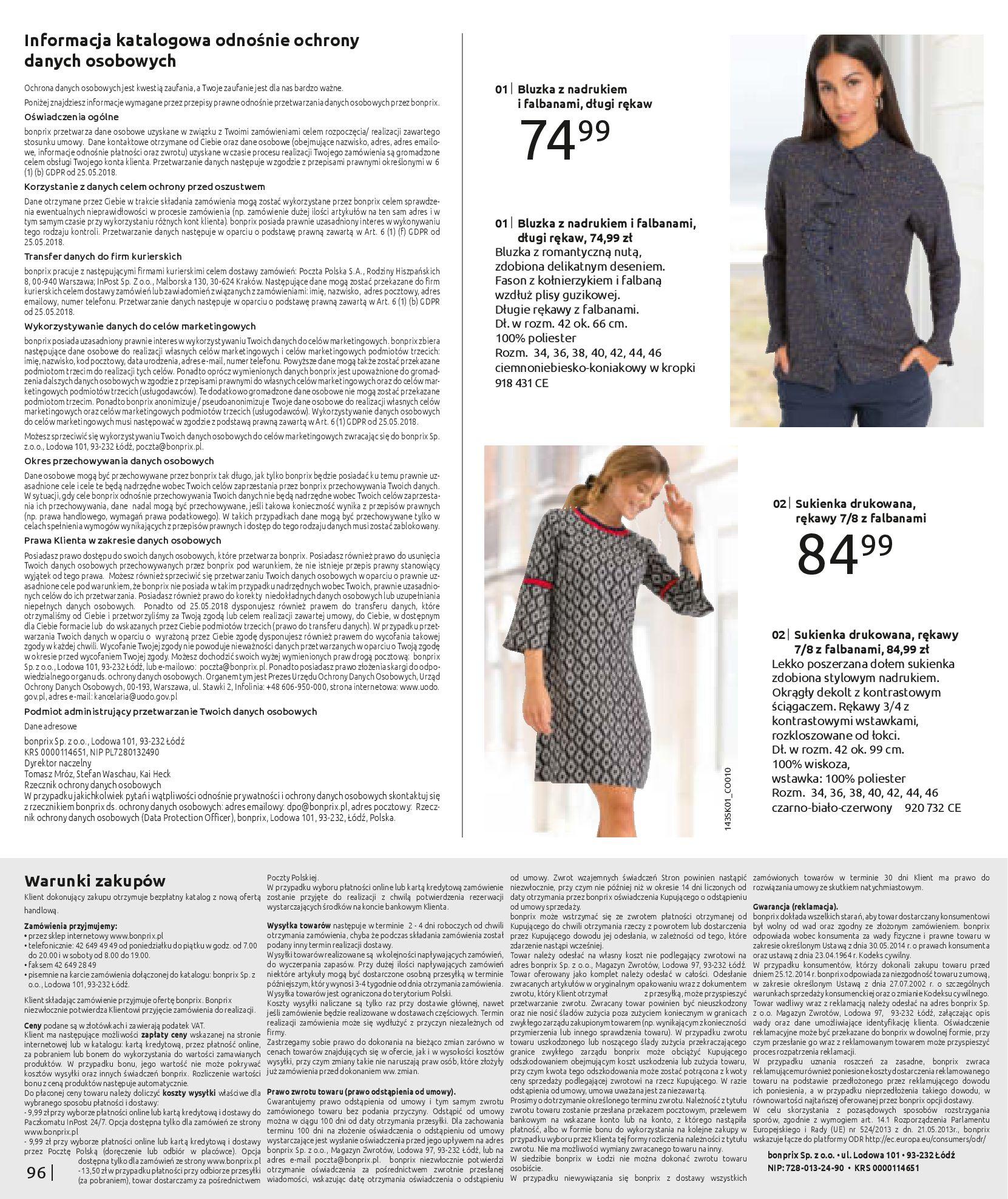 Gazetka Bonprix: MODA DLA MNIE 2021-01-20 page-98