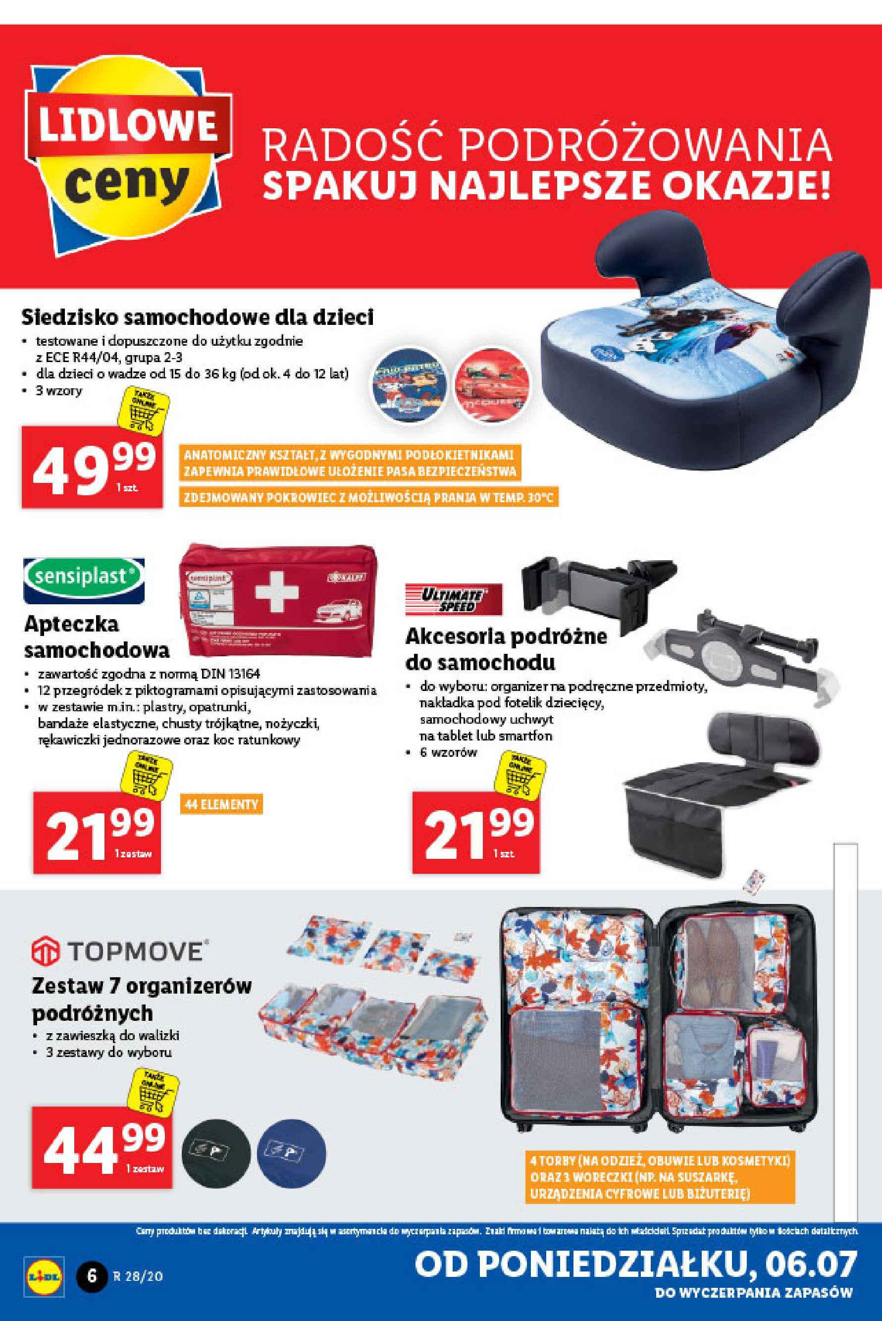 Gazetka Lidl - Katalog od poniedziałku 06.07-05.07.2020-11.07.2020-page-6