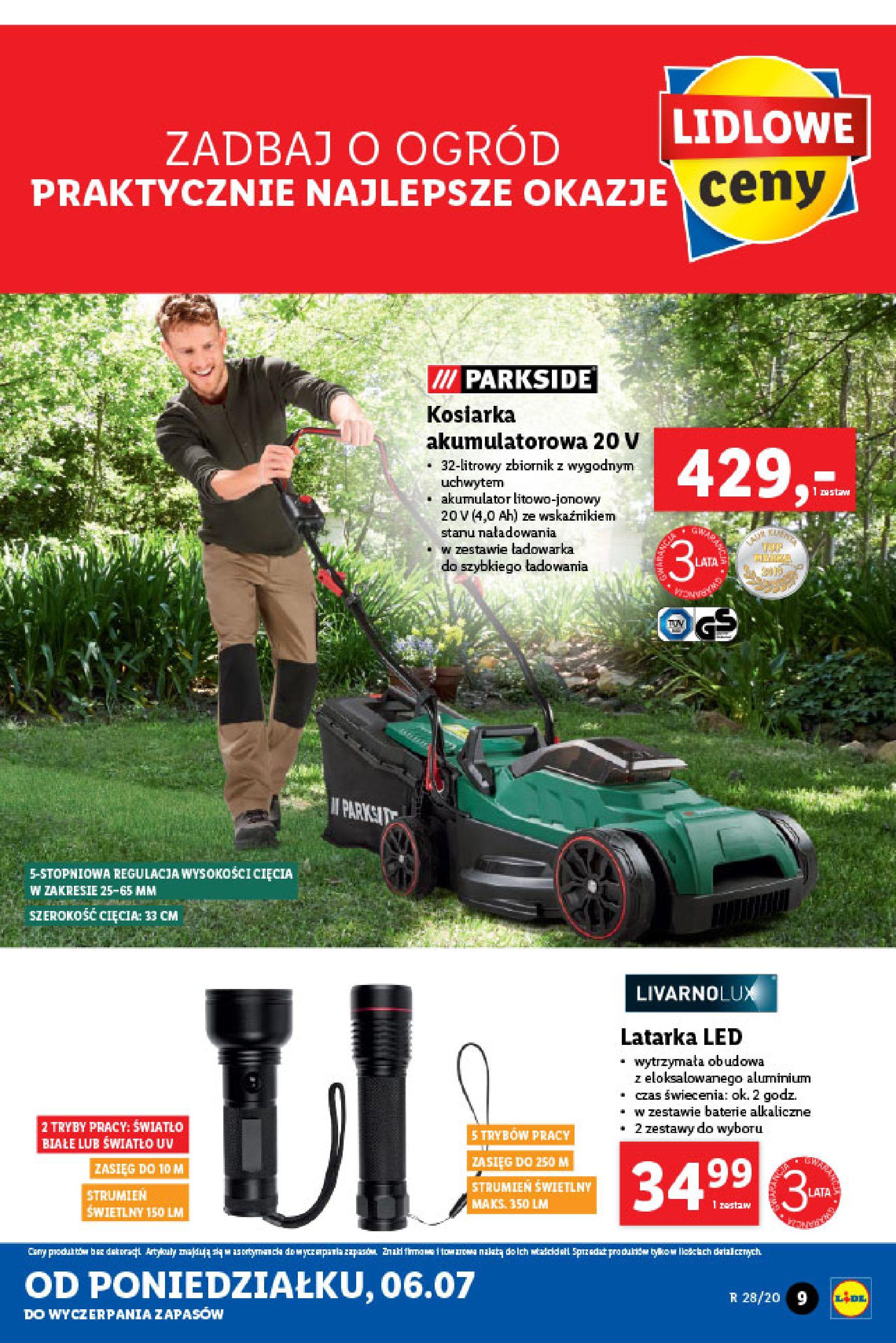 Gazetka Lidl - Katalog od poniedziałku 06.07-05.07.2020-11.07.2020-page-9