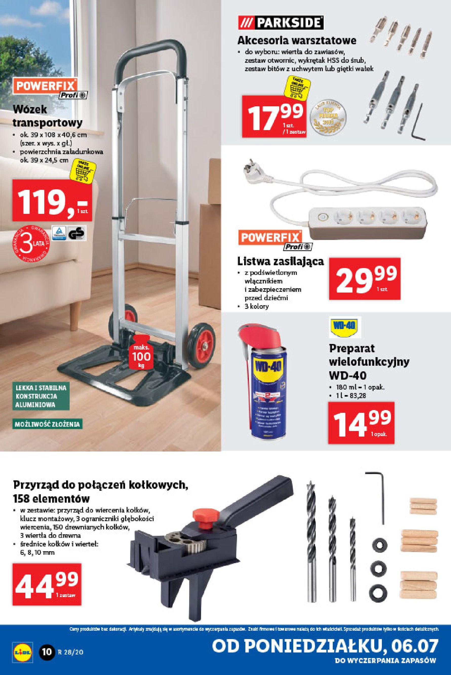 Gazetka Lidl - Katalog od poniedziałku 06.07-05.07.2020-11.07.2020-page-10