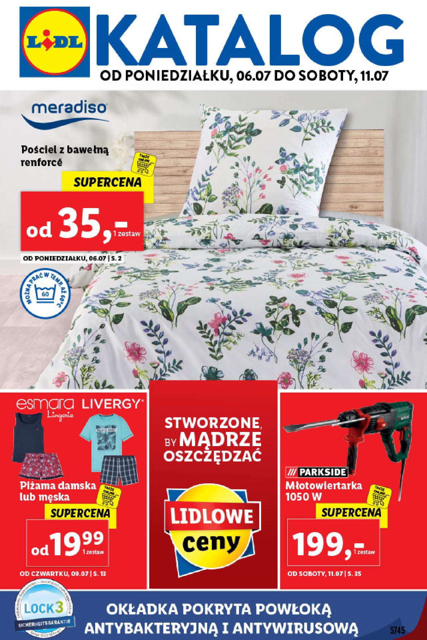 Gazetka Lidl - Katalog od poniedziałku 06.07-05.07.2020-11.07.2020-page-1