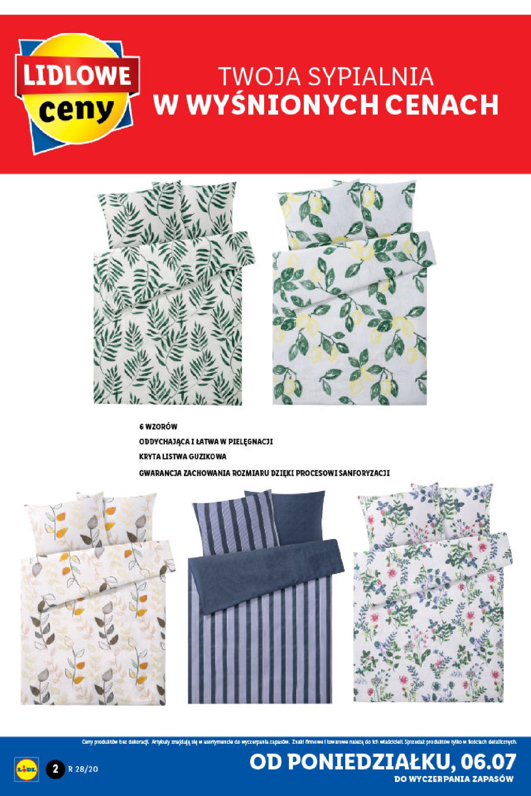 Gazetka Lidl - Katalog od poniedziałku 06.07-05.07.2020-11.07.2020-page-2
