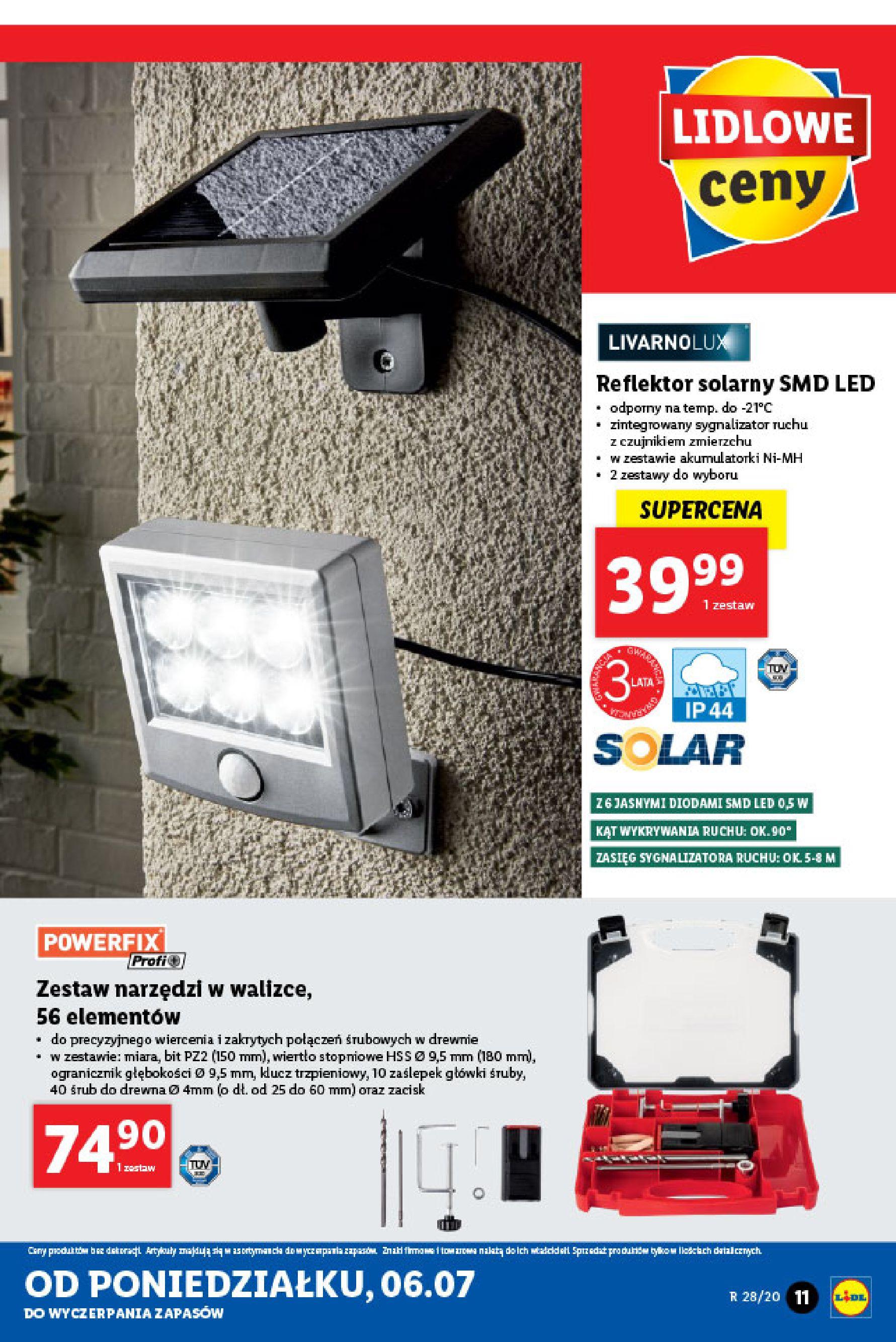 Gazetka Lidl - Katalog od poniedziałku 06.07-05.07.2020-11.07.2020-page-11