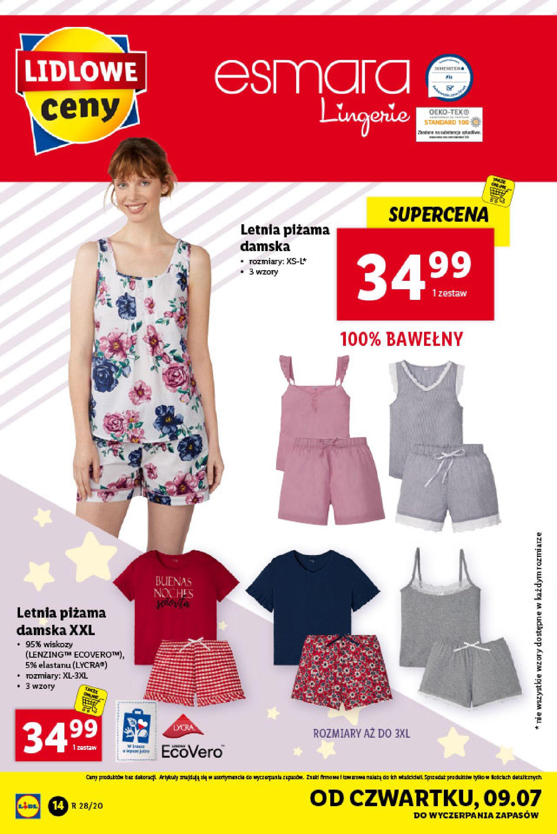Gazetka Lidl - Katalog od poniedziałku 06.07-05.07.2020-11.07.2020-page-14