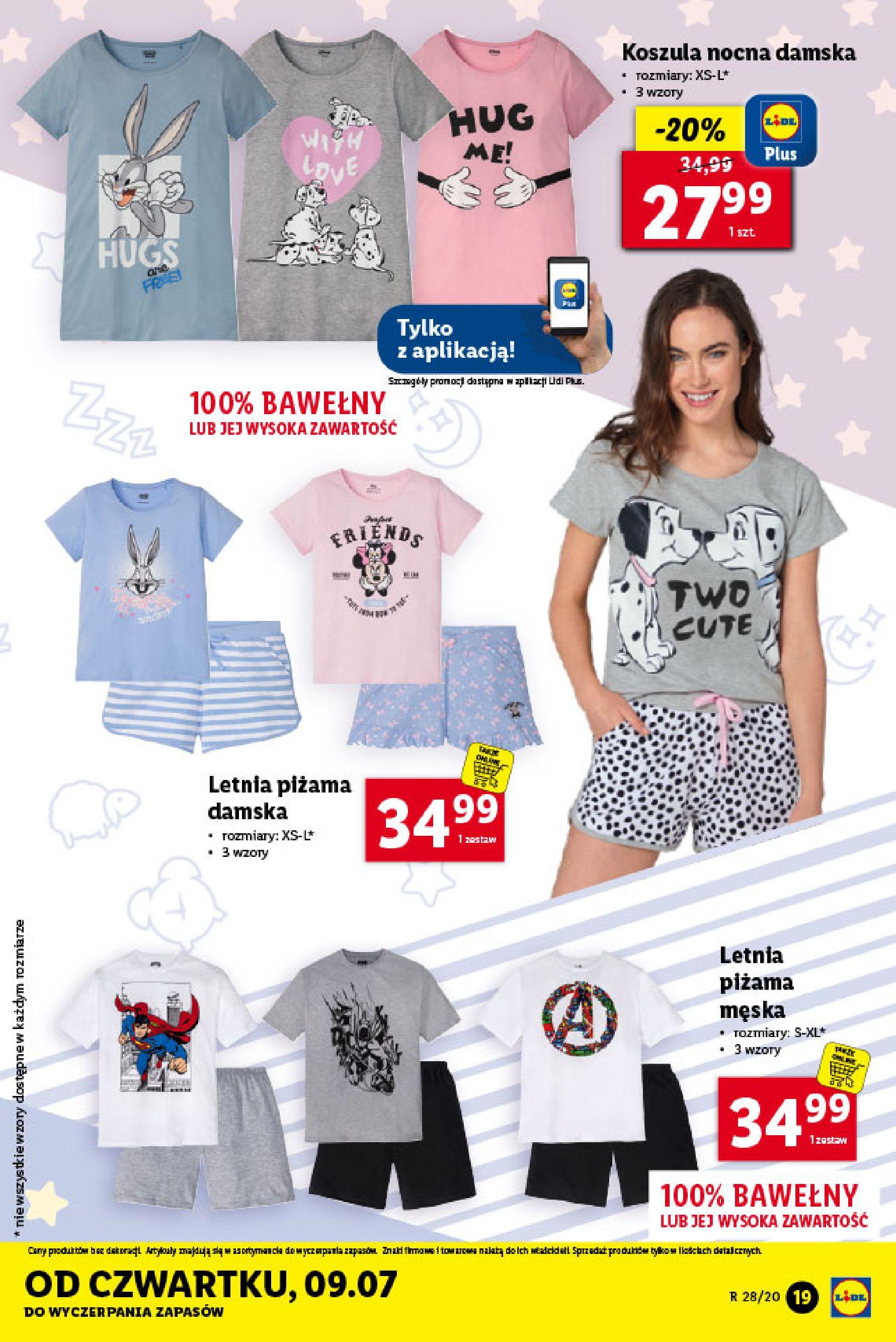 Gazetka Lidl - Katalog od poniedziałku 06.07-05.07.2020-11.07.2020-page-19