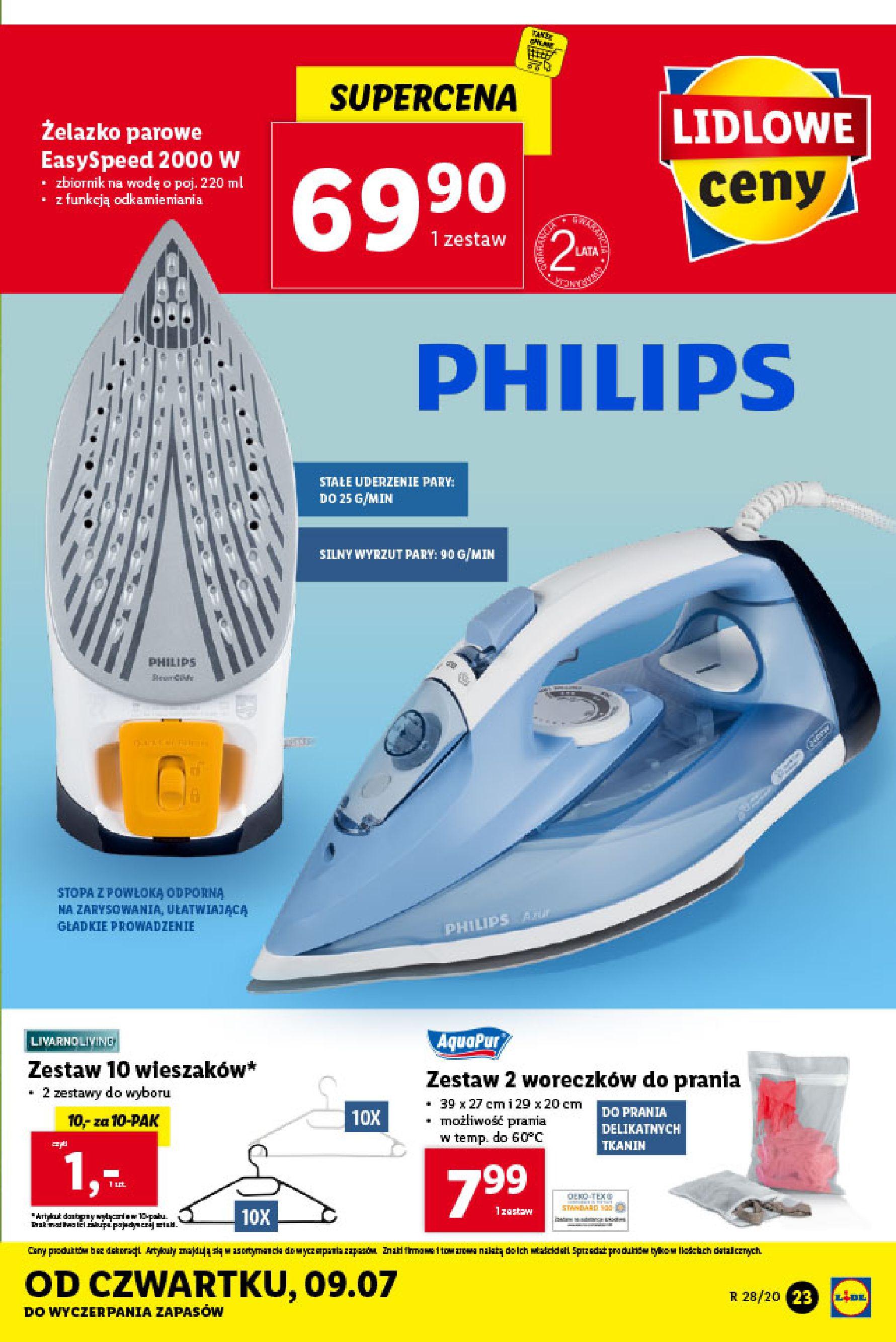Gazetka Lidl - Katalog od poniedziałku 06.07-05.07.2020-11.07.2020-page-23