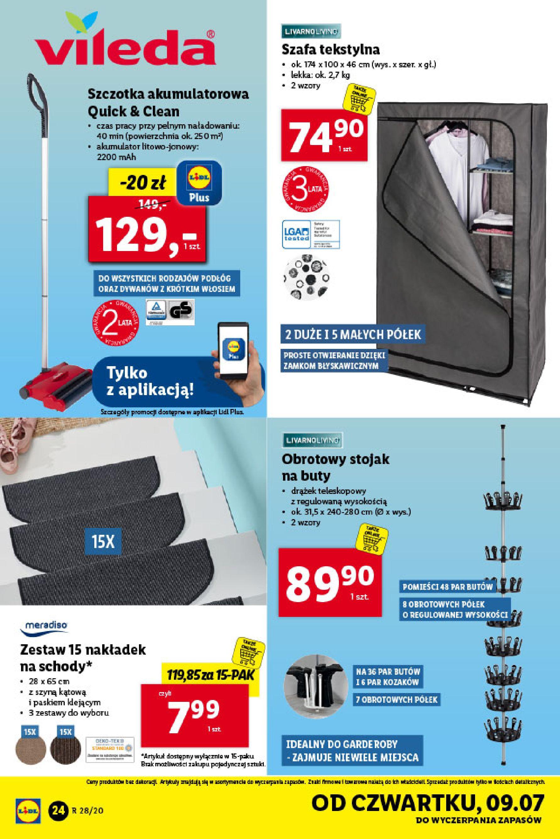 Gazetka Lidl - Katalog od poniedziałku 06.07-05.07.2020-11.07.2020-page-24