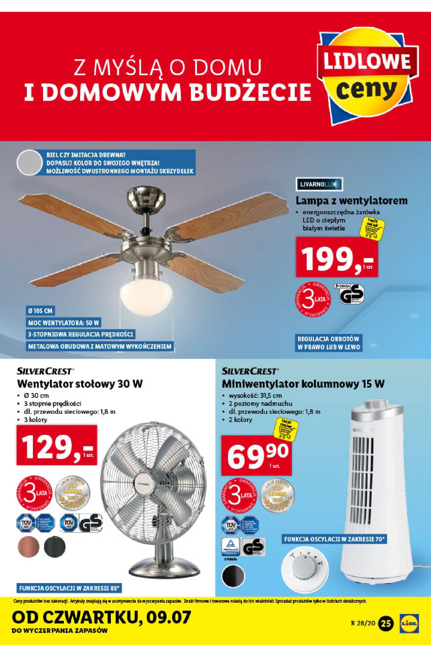 Gazetka Lidl - Katalog od poniedziałku 06.07-05.07.2020-11.07.2020-page-25