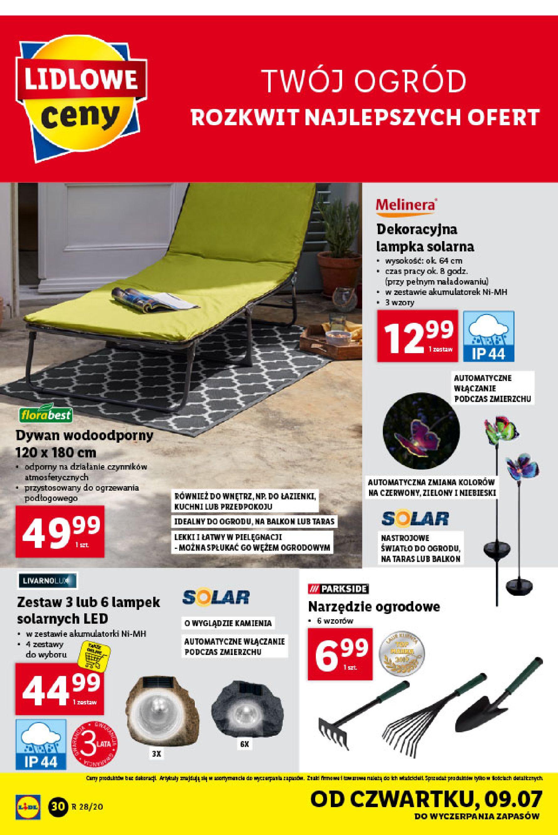 Gazetka Lidl - Katalog od poniedziałku 06.07-05.07.2020-11.07.2020-page-30