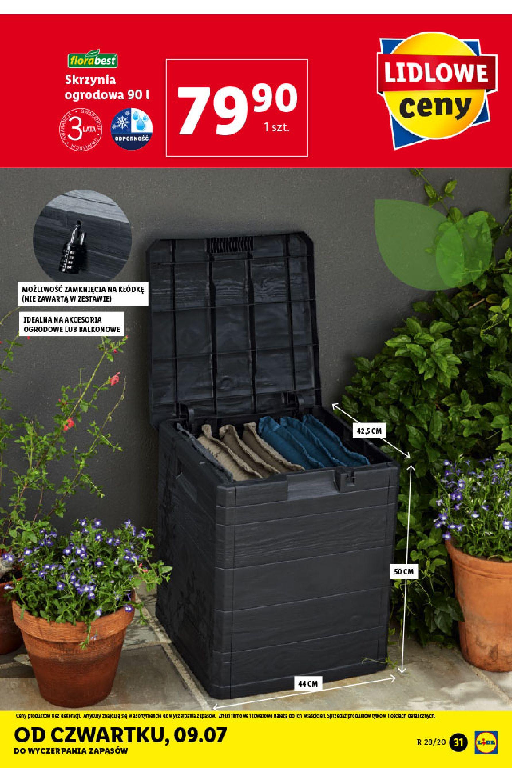 Gazetka Lidl - Katalog od poniedziałku 06.07-05.07.2020-11.07.2020-page-31