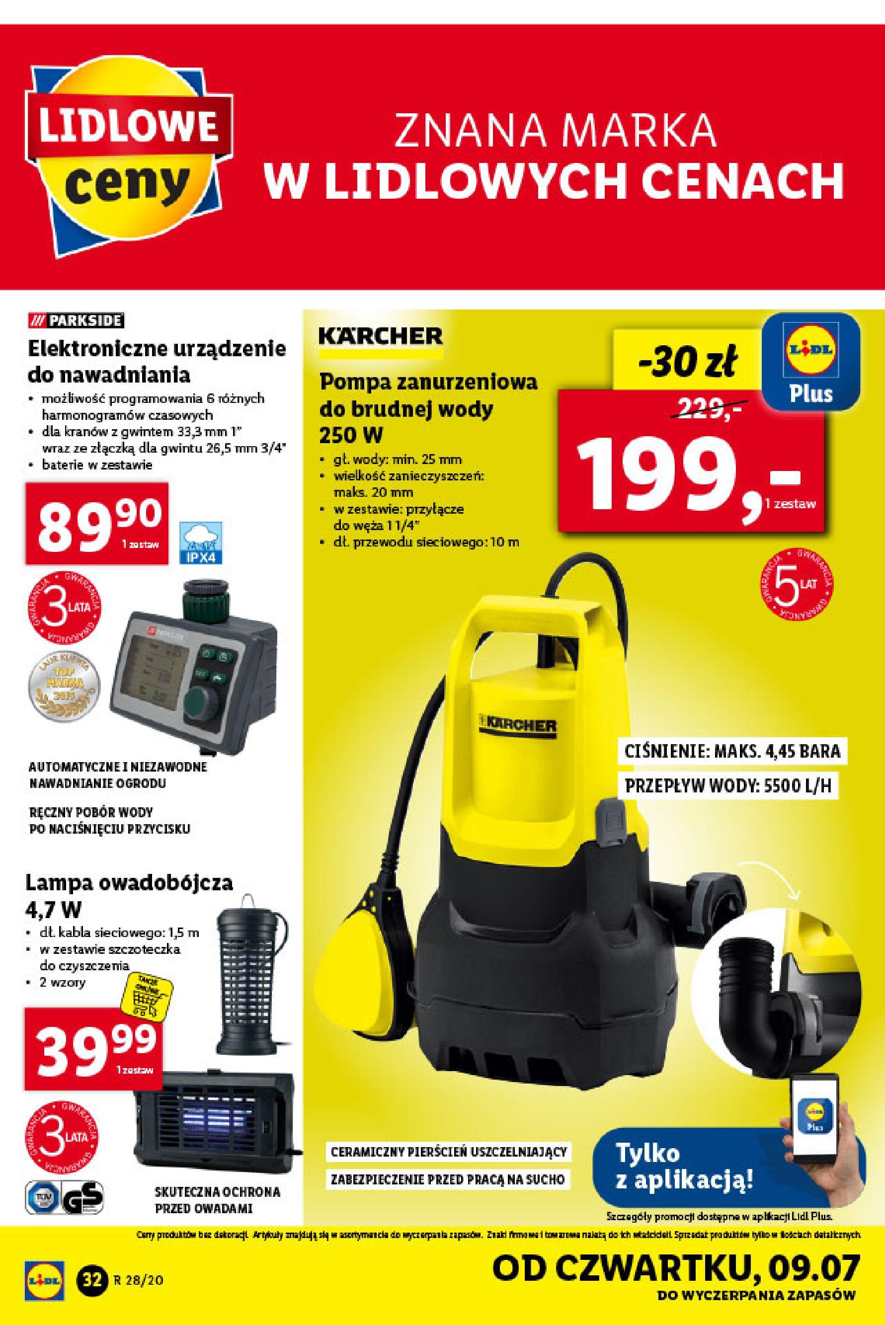 Gazetka Lidl - Katalog od poniedziałku 06.07-05.07.2020-11.07.2020-page-32