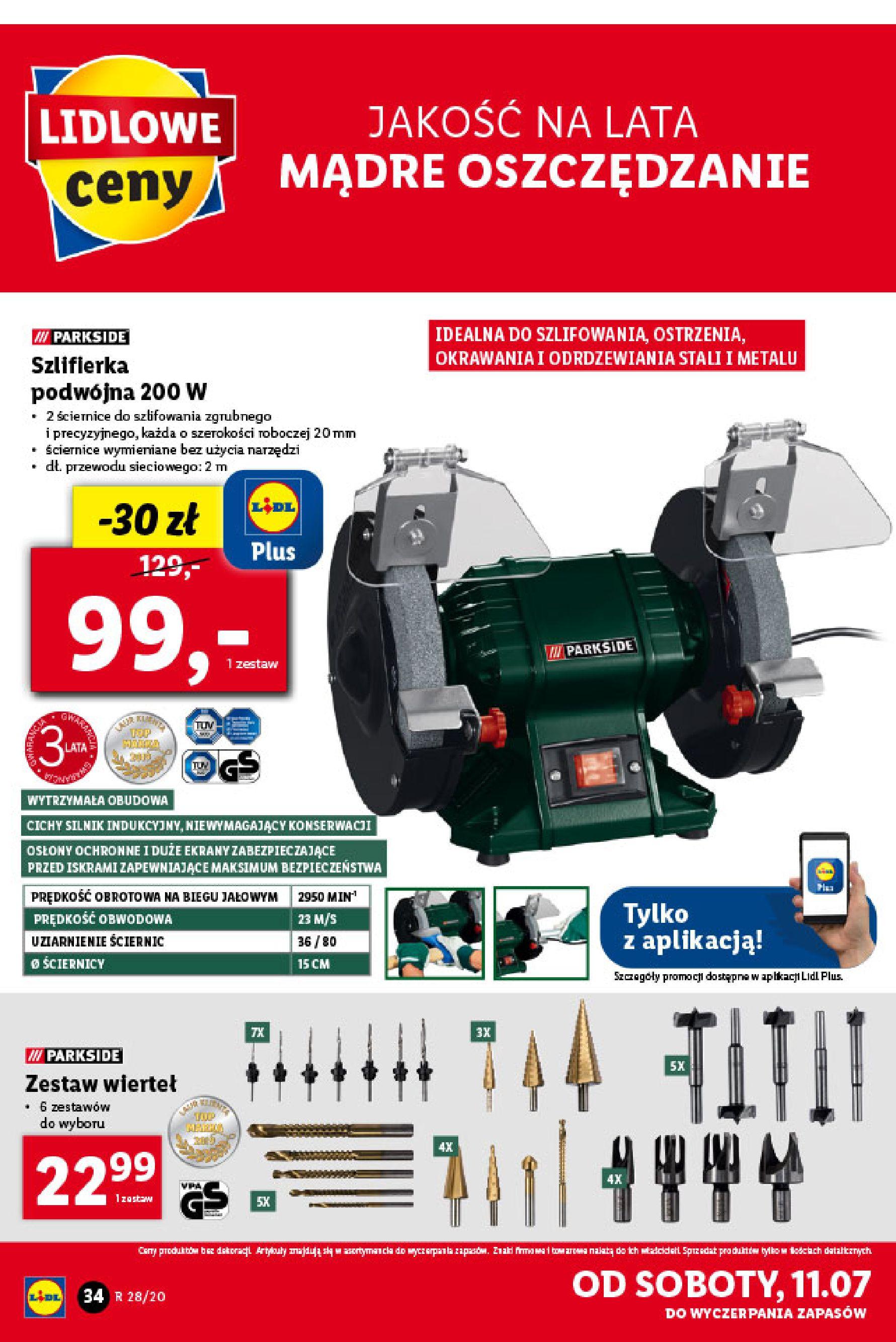 Gazetka Lidl - Katalog od poniedziałku 06.07-05.07.2020-11.07.2020-page-34